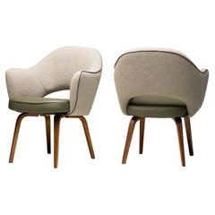 Executive Armchairs in Leather by Eero Saarinen for Knoll International