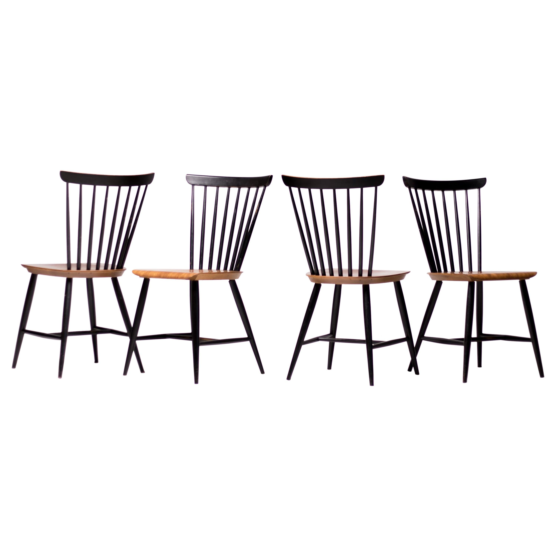 Set of Four Fanett Chairs by Ilmari Tapiovaara