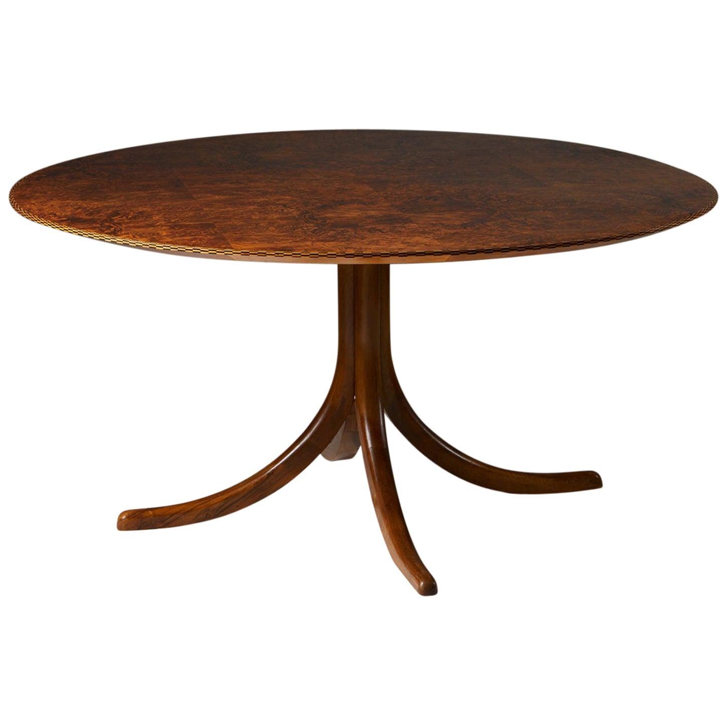 Table Model 1020 Designed by Josef Frank for Svenskt Tenn, Sweden, 1940s