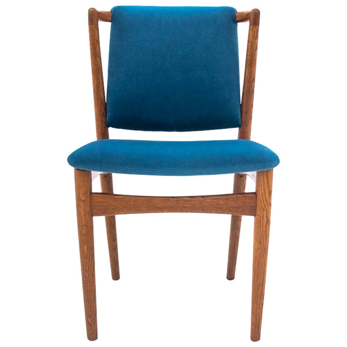 Teak Chair, Denmark, 1950s, Renovated