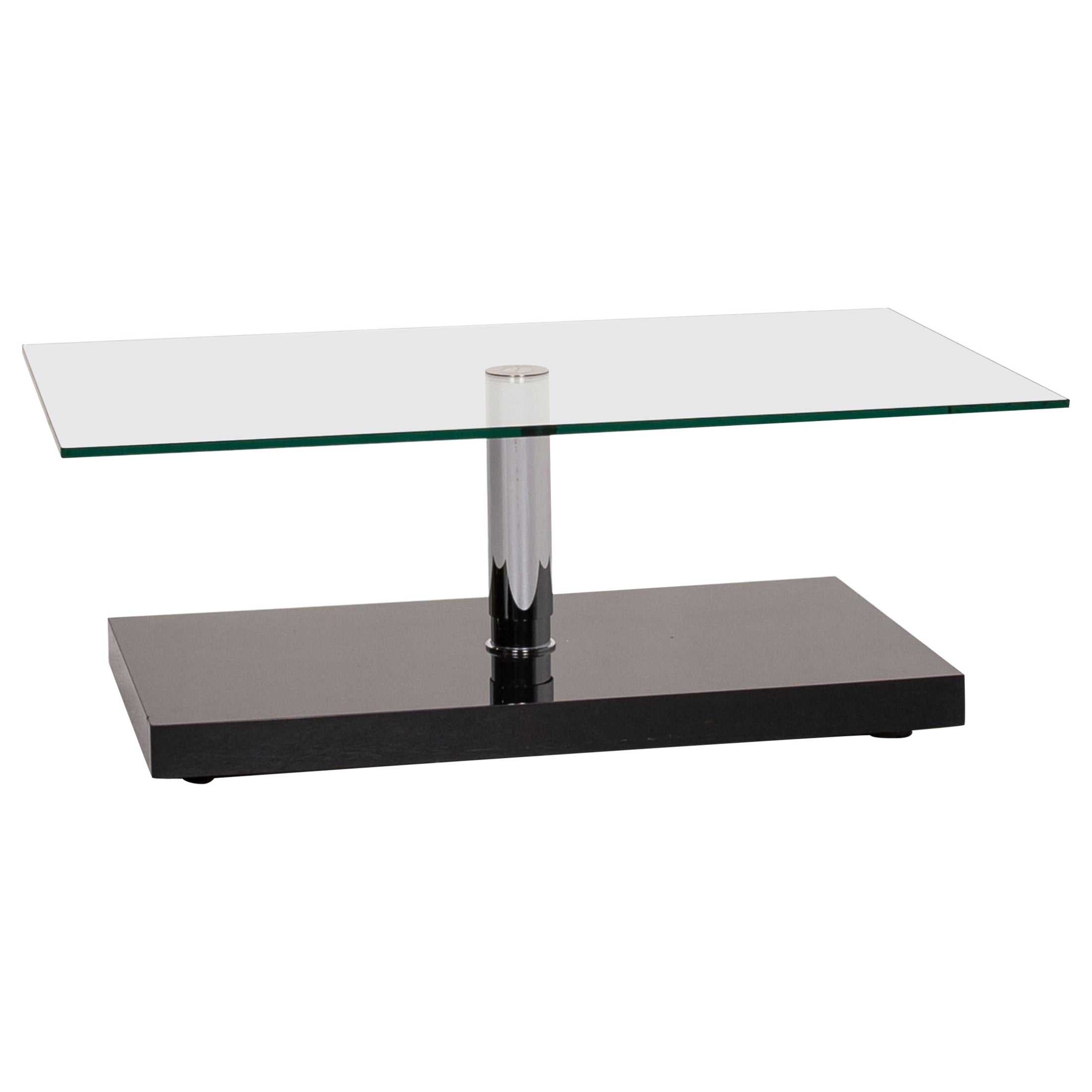 Ronald Schmitt Glass Coffee Table Function Table