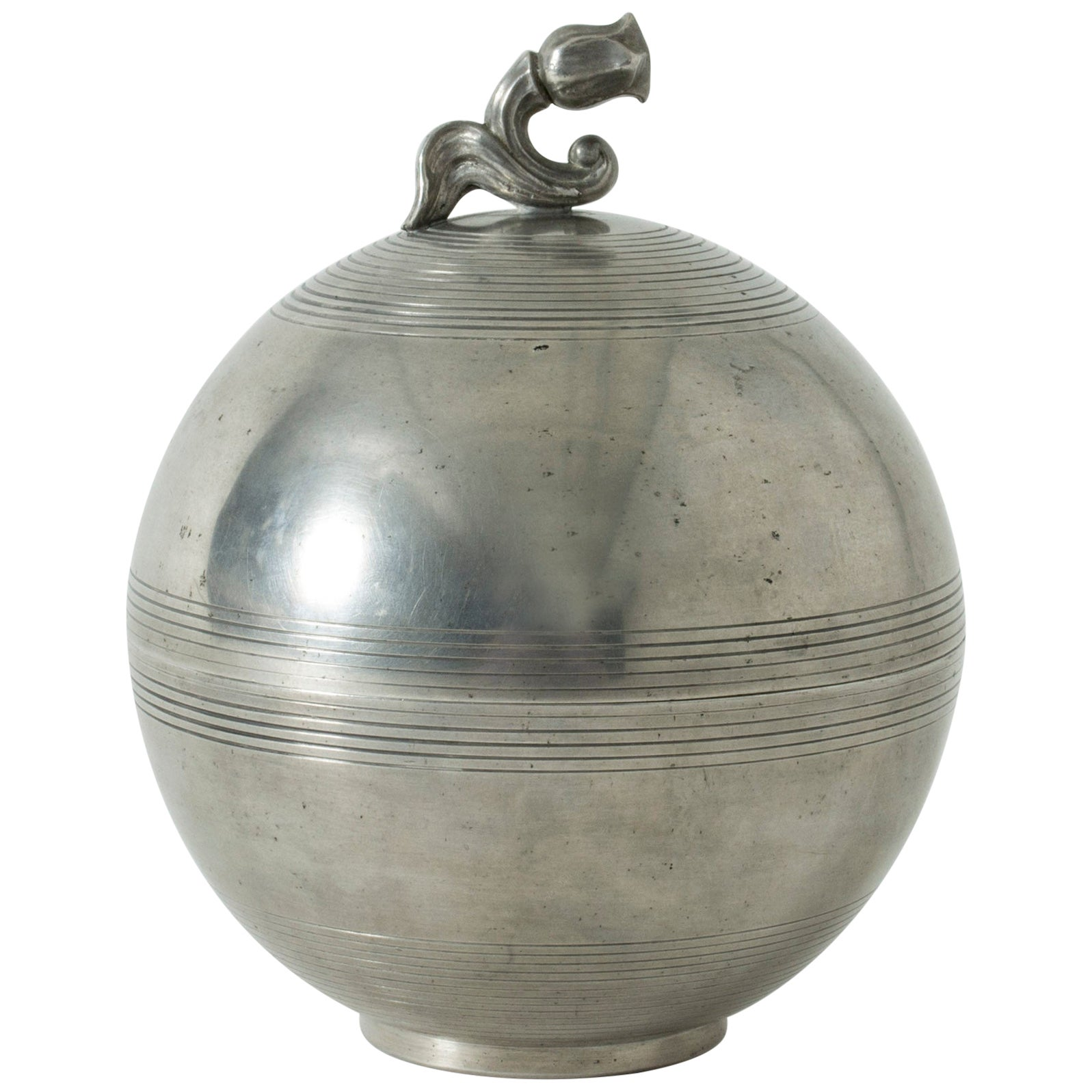 Pewter Jar by Sylvia Stave