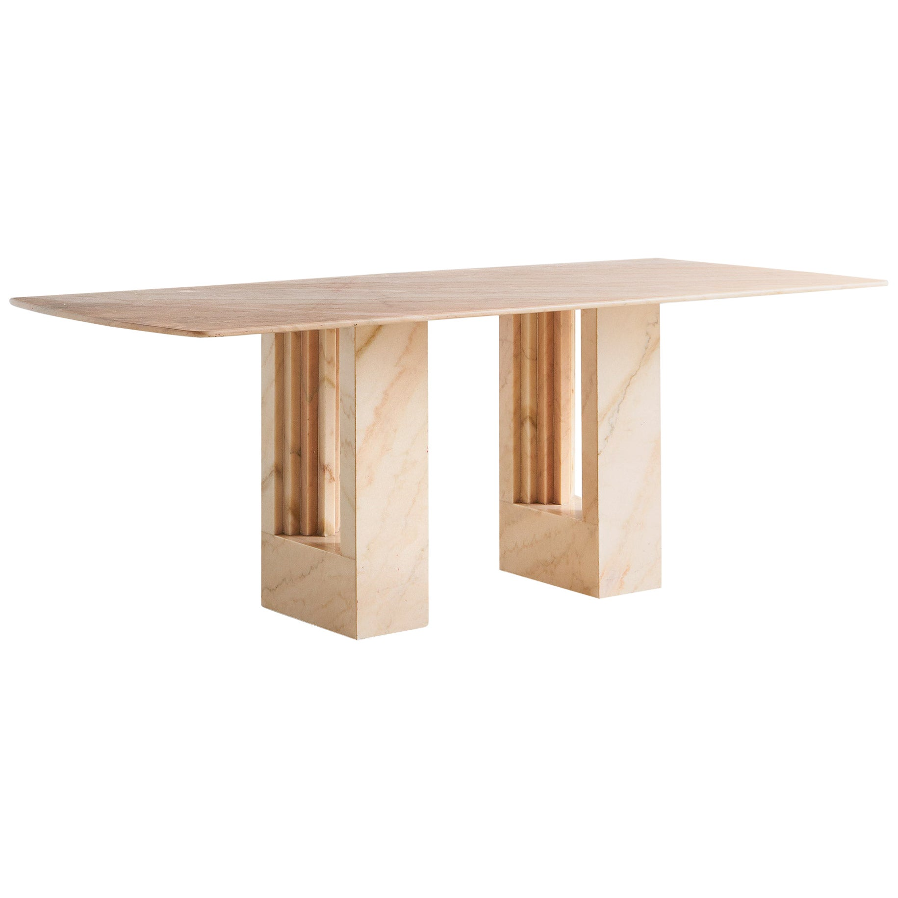 Rosa Portuguese Marble Dining Table