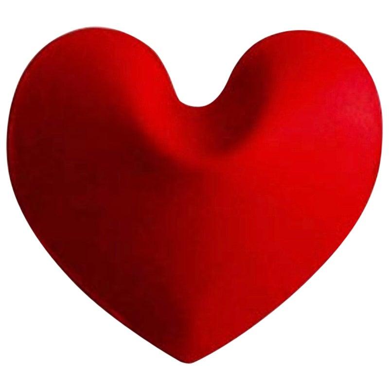 Hot Heart Hanger Carbon Steel Strawberry Red Color by Zieta
