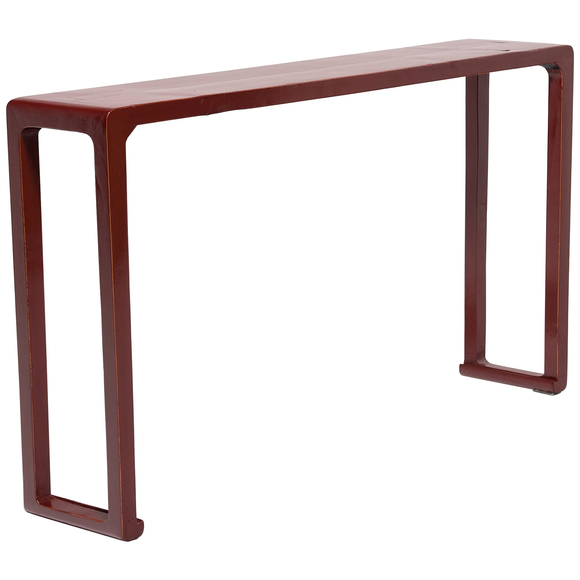 Chinese Red Lacquer Altar Table, circa 1900