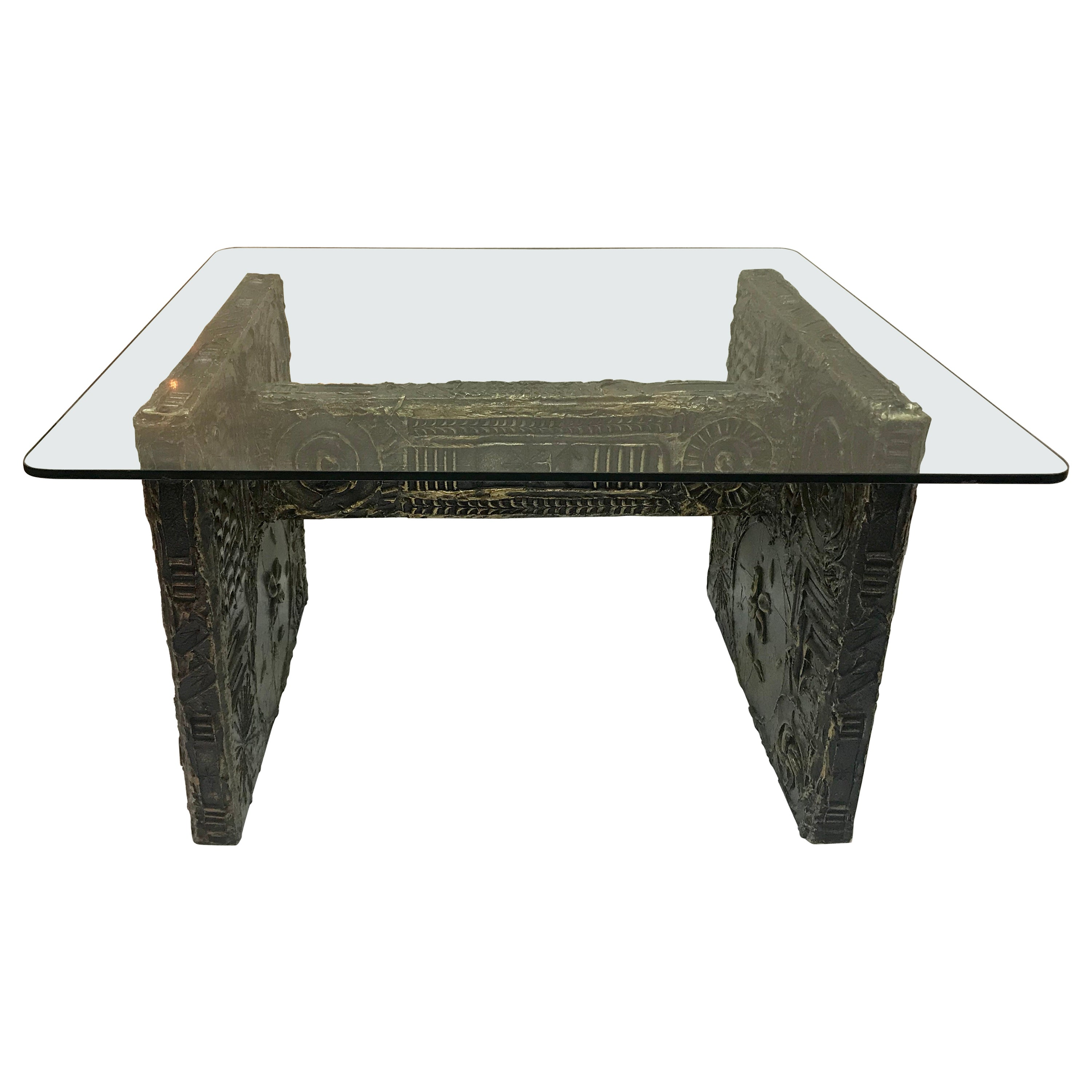 Brutalist Dining Table Desk, Adrian Pearsall