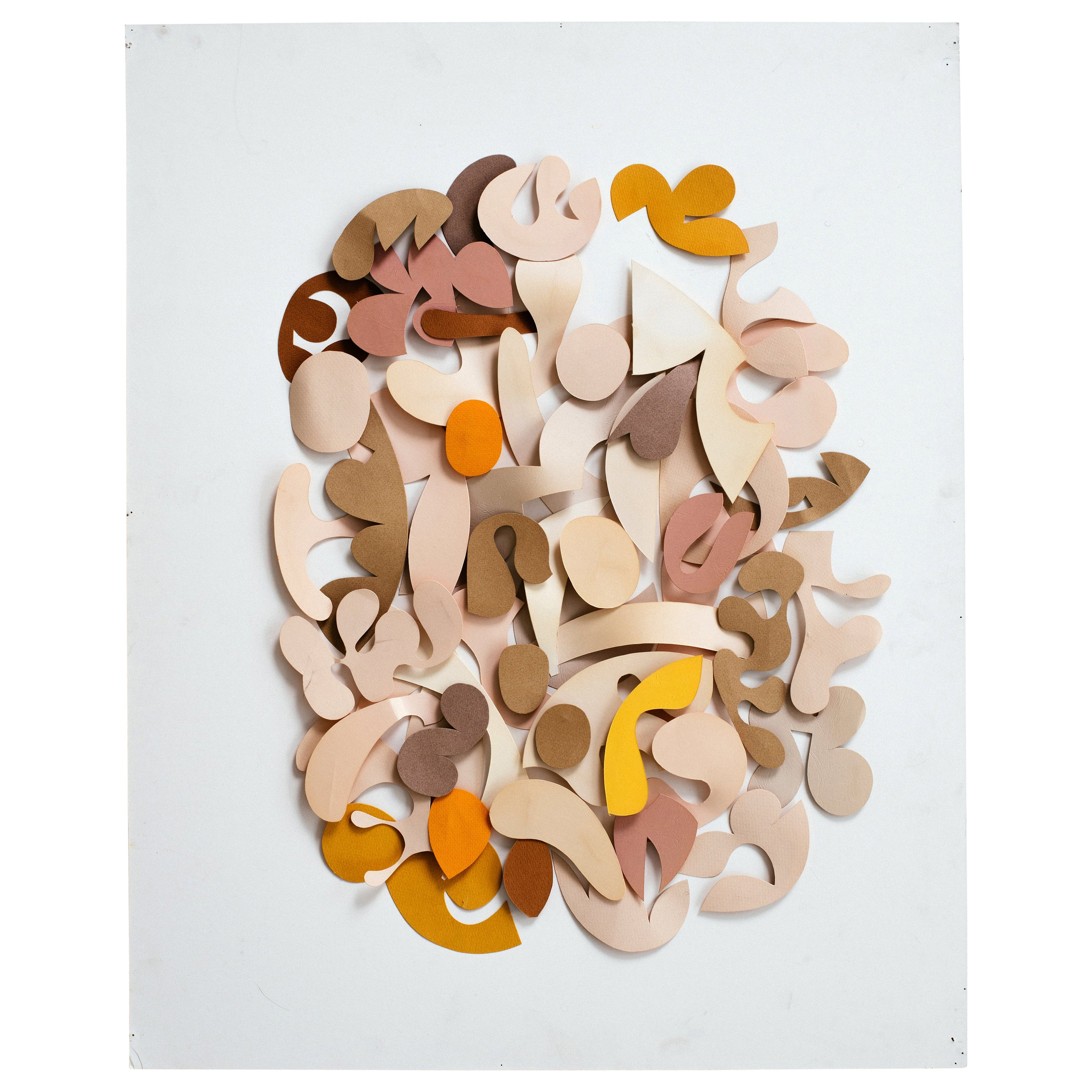 Irving Harper Untitled Paper Relief Wall Sculpture