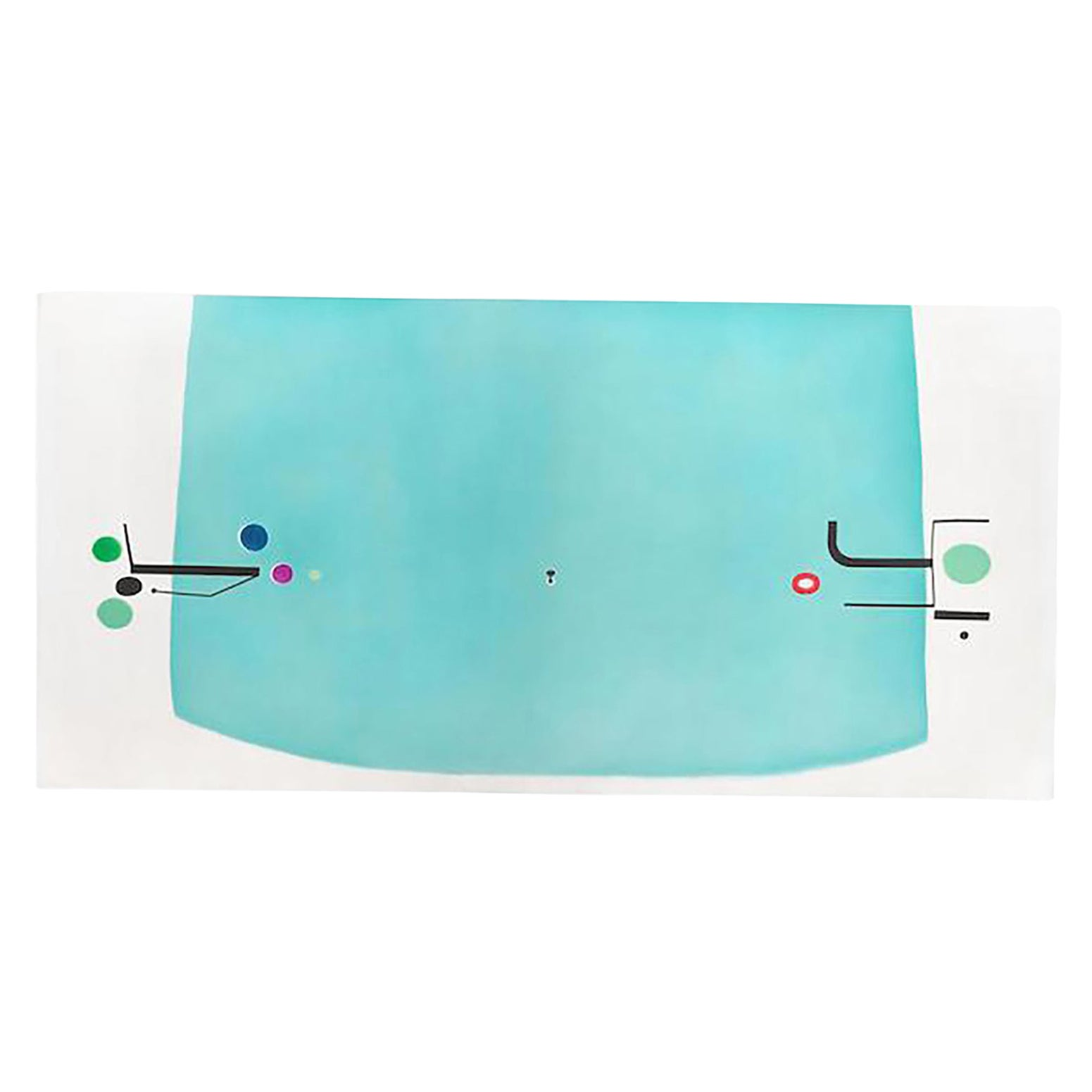 """Etching and Aquatinit by Victor Pasmore Titled """"The Space Within"""""""
