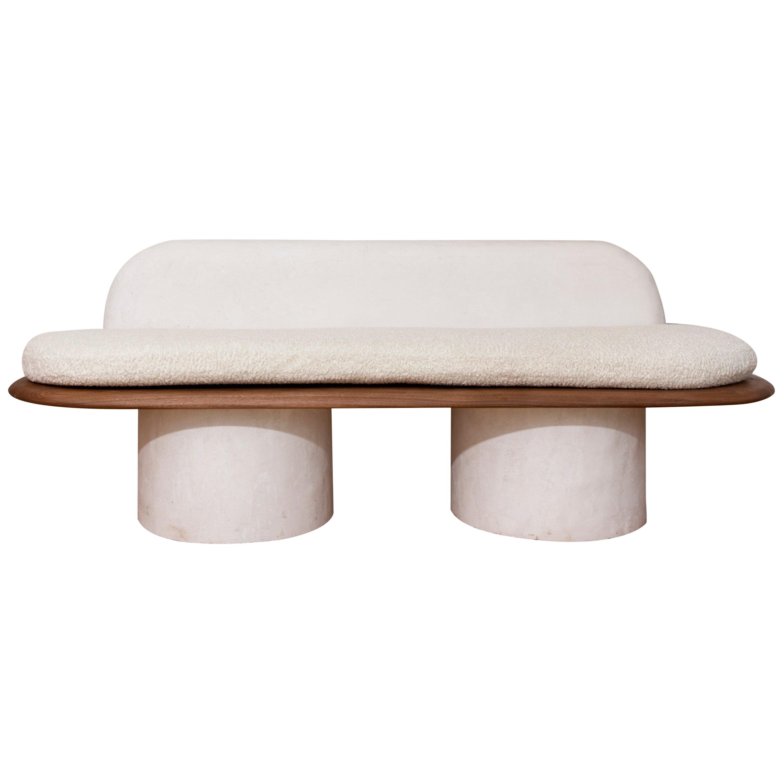 Pillar Contemporary Sofa by Jackrabbit Studio
