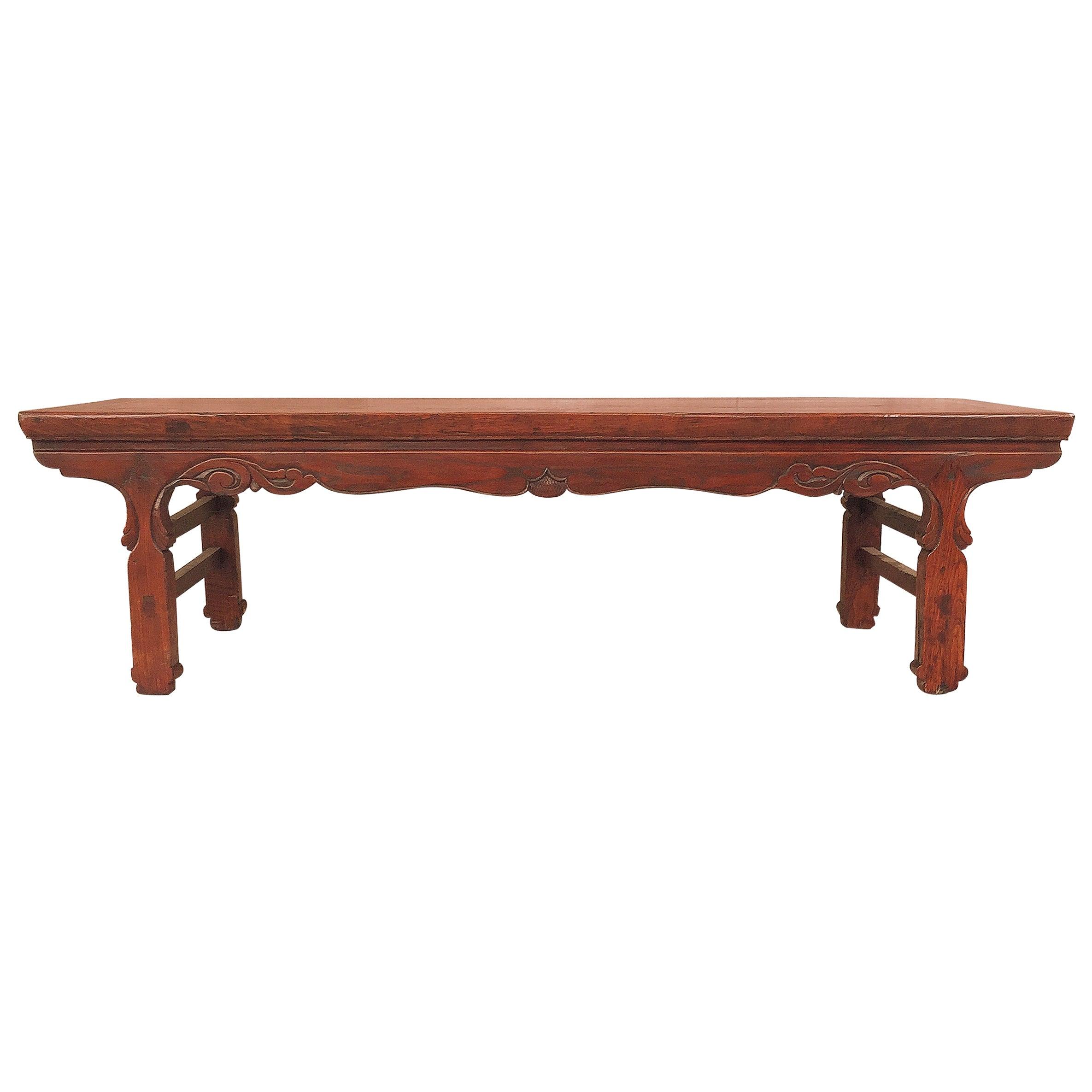 Jumu Wood Asian Kang Low Table