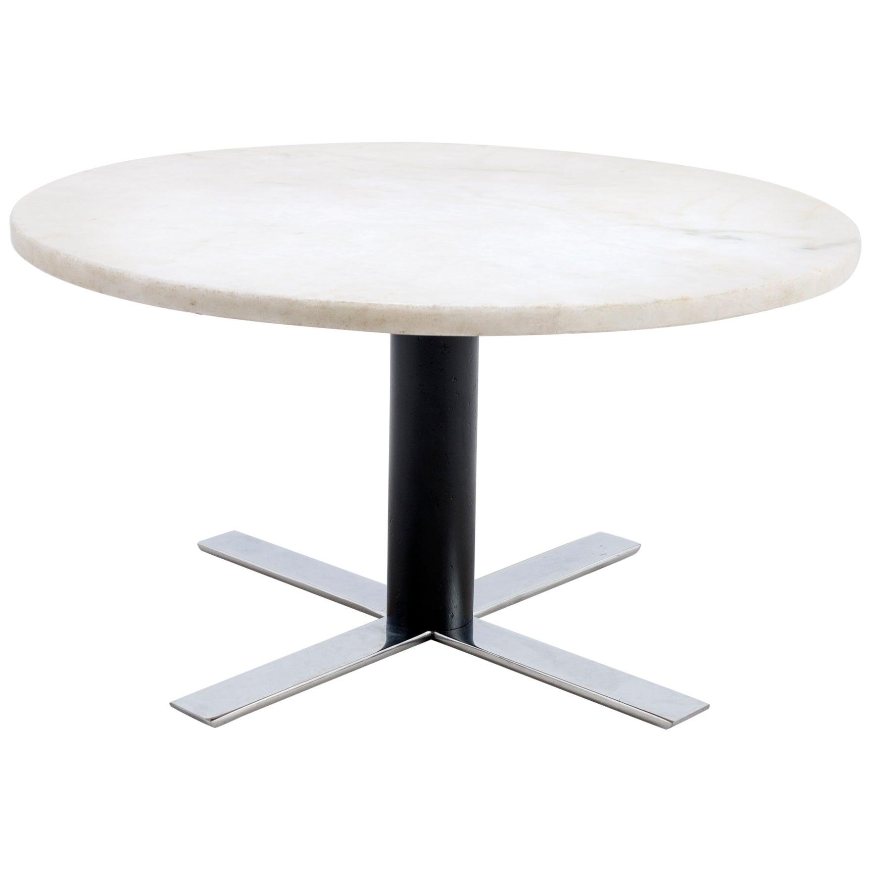 Jorge Zalszupin, Marble Coffee Table - Brazil, 1950s