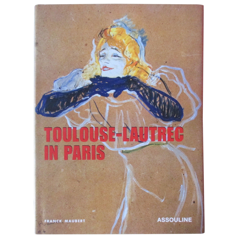 Vintage Henri Toulouse-Lautrec In Paris Book