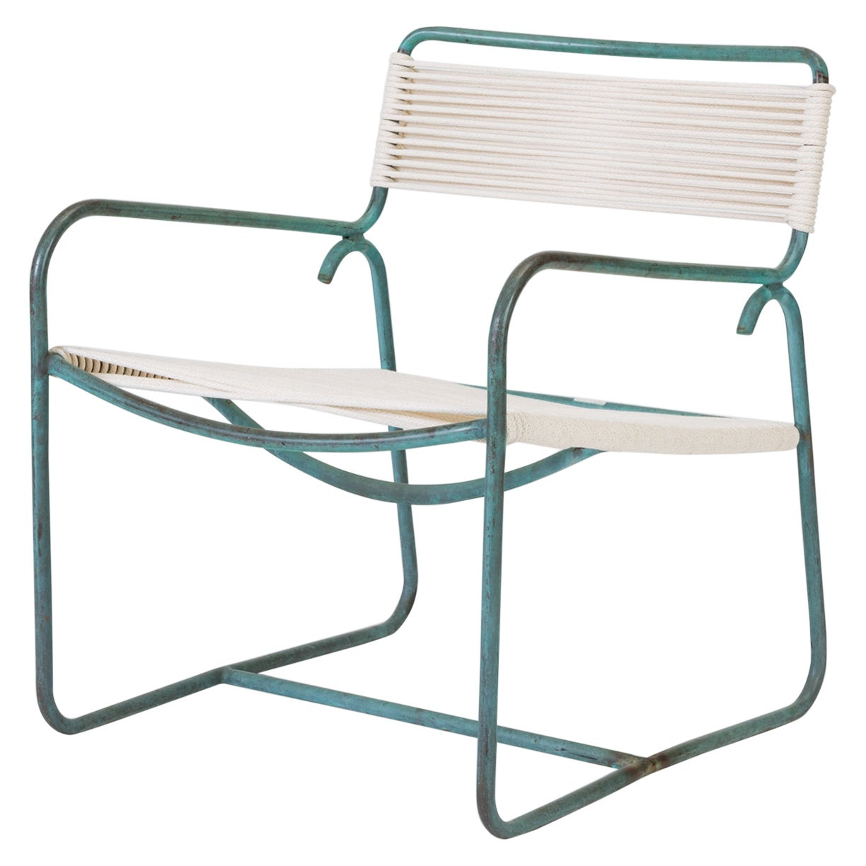 Wide Lounge Chair by Walter Lamb for Brown Jordan