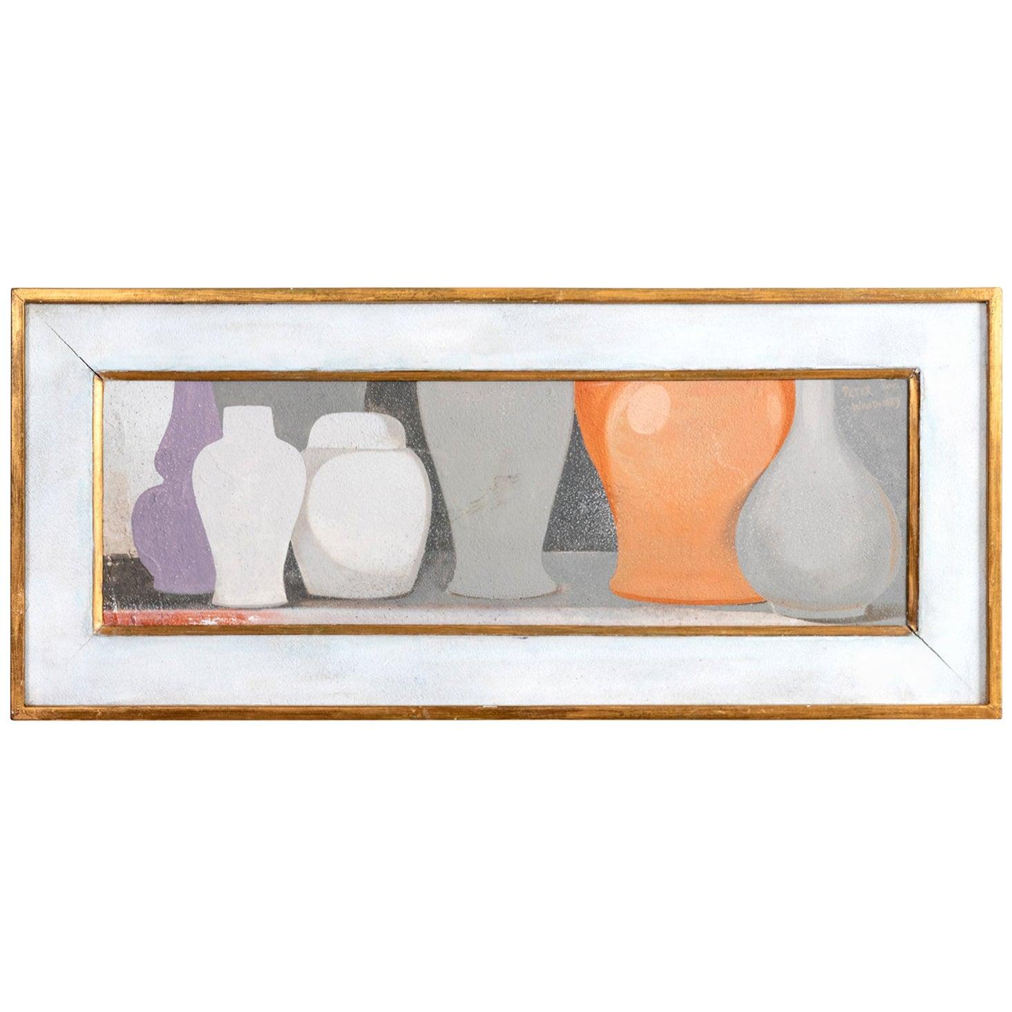 Vase Still Life by Peter Woodward