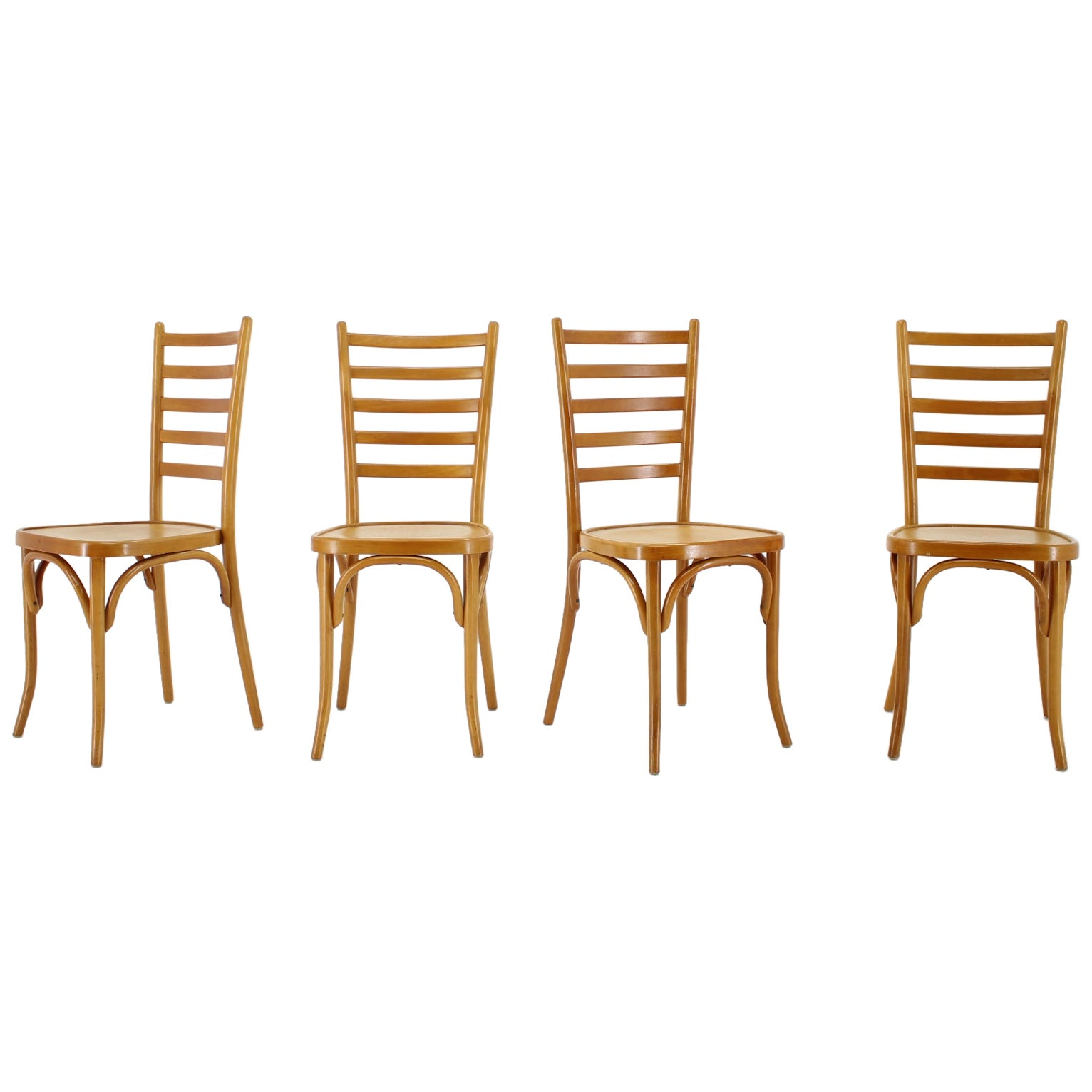 1970s Italian Dining Chairs, Set of 4