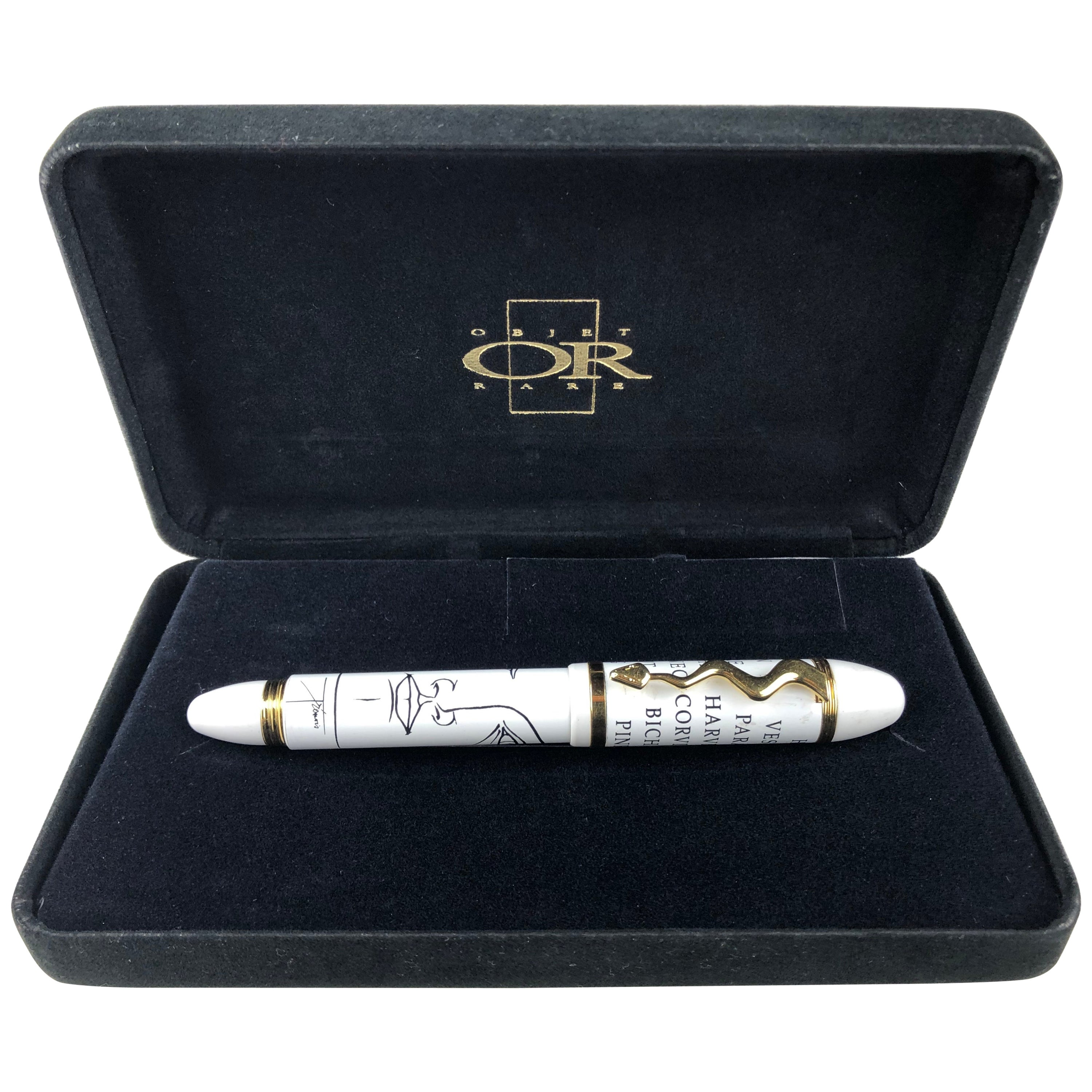 Pierre Yves Tremois Limited Edition Fountain Pen with Original Case
