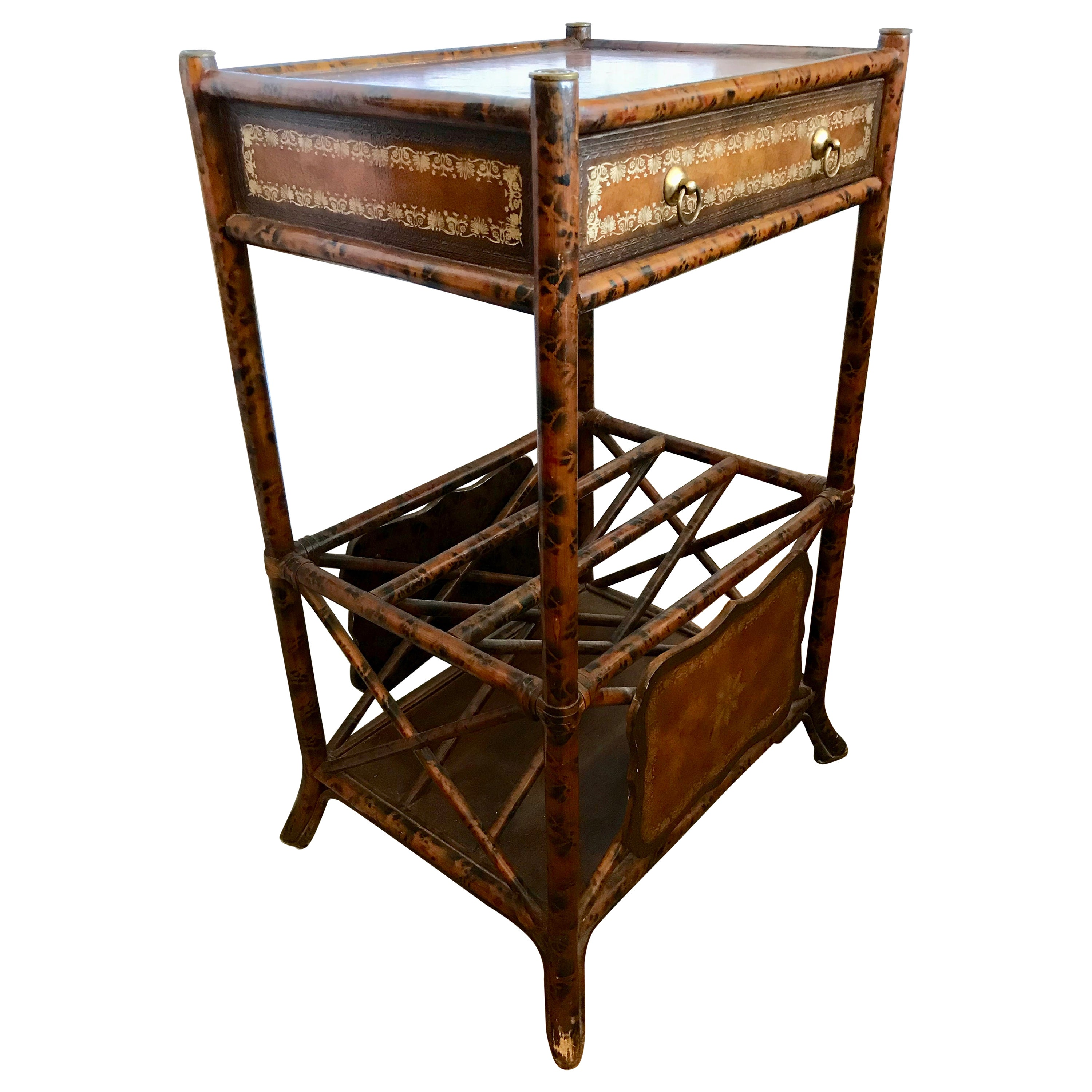 Maitland Smith Bamboo Stand / Table
