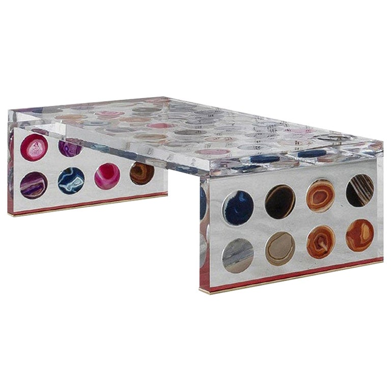 Contemporary Modern Italian Coffee Table Designed by Superego Studio For Sale