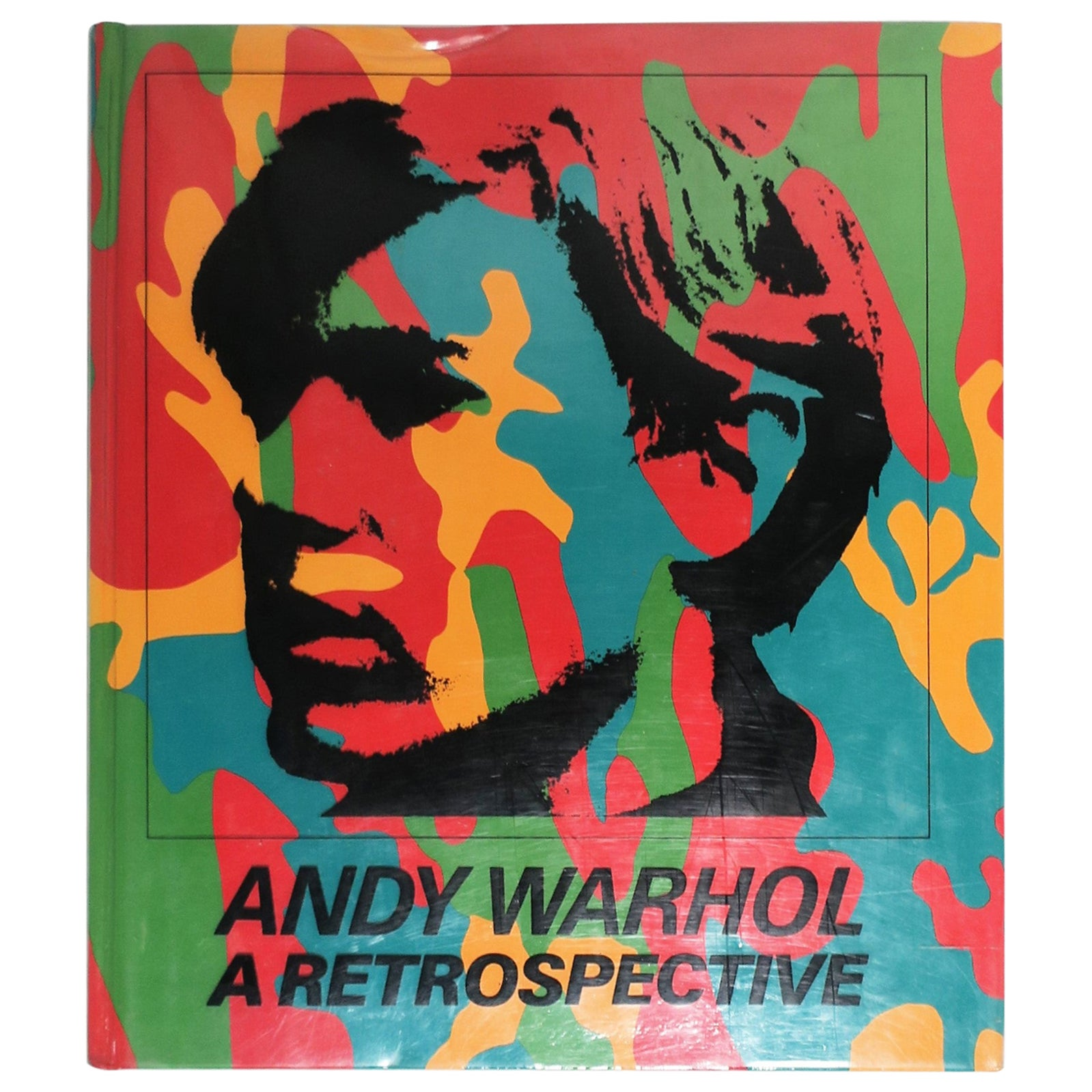Andy Warhol A Retrospective Hard-Cover Library or Coffee Table Book, 1989