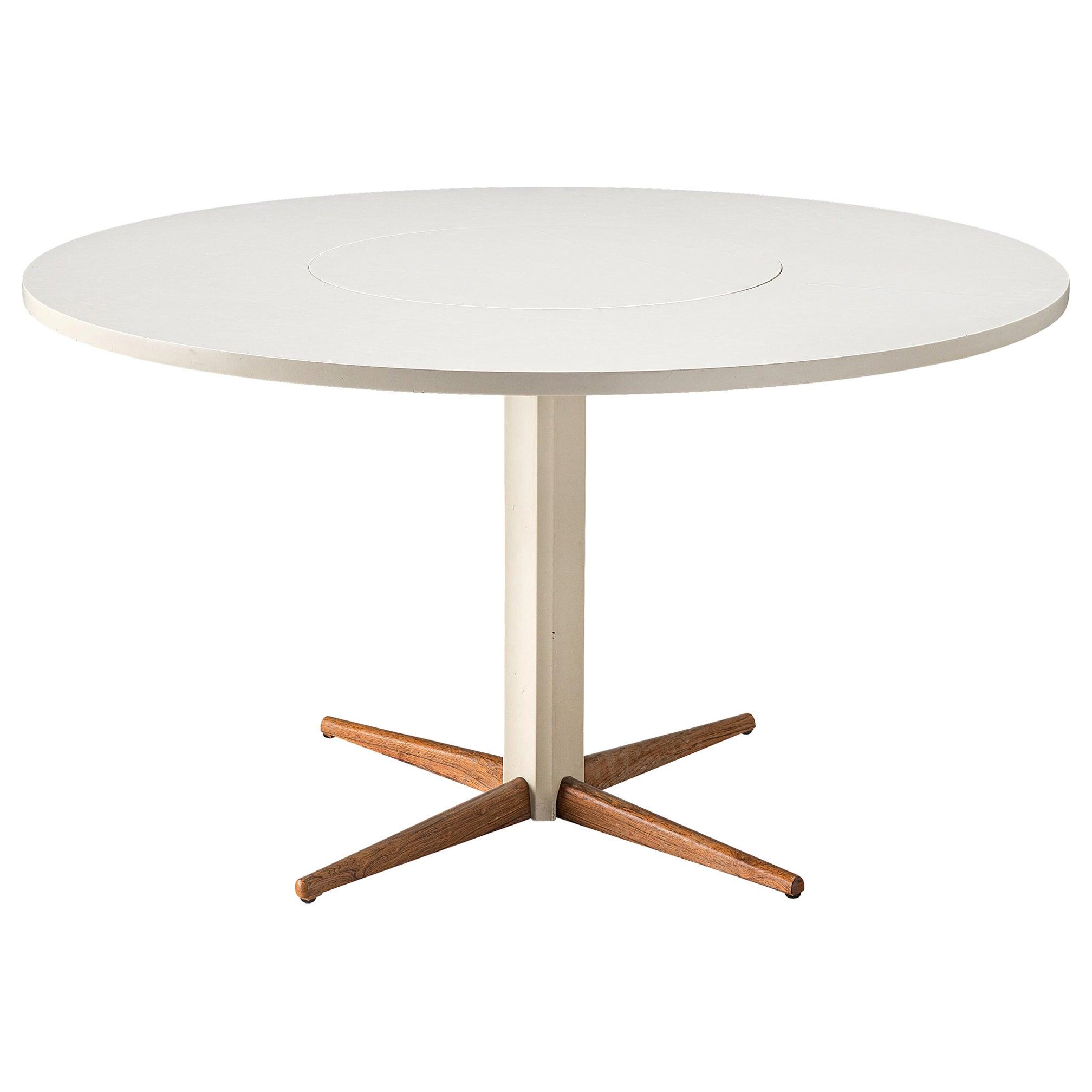Nanna Ditzel for Kolds Savvaerk Round Pedestal Table