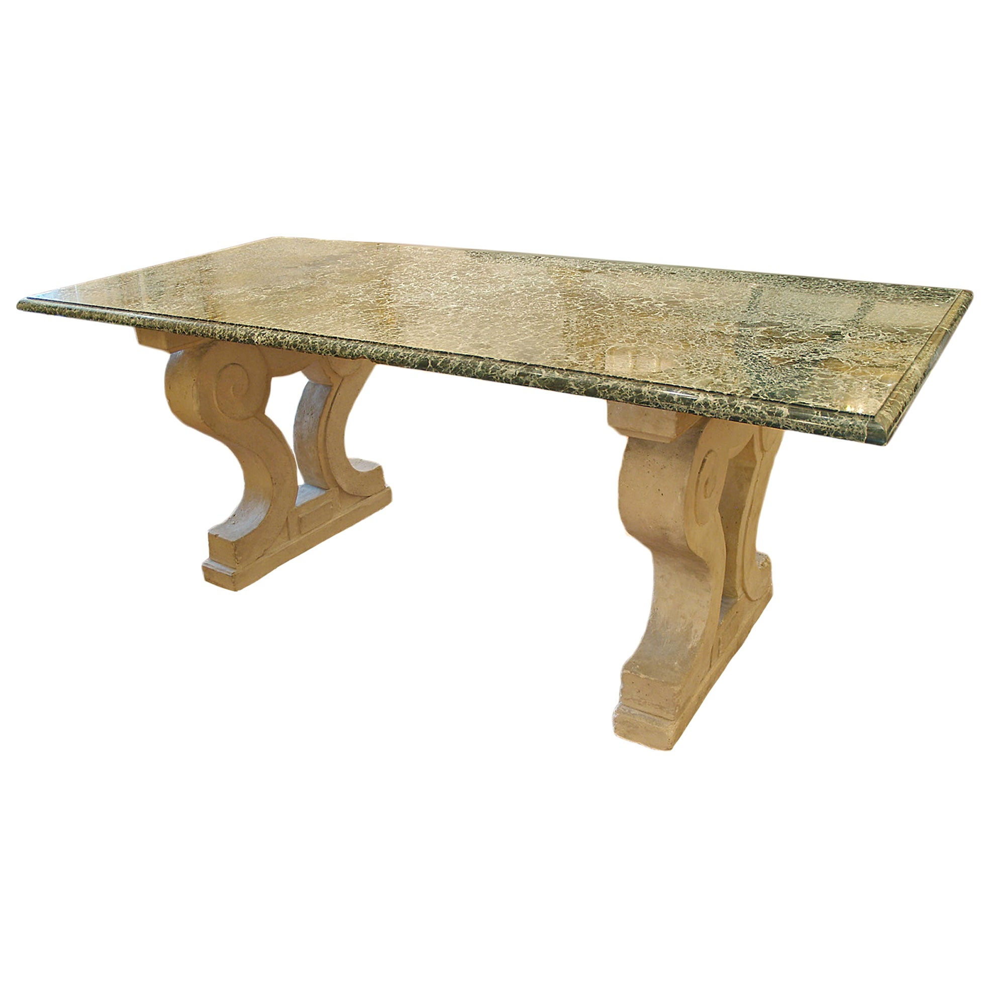 19th Century Country French Center/Dining Table