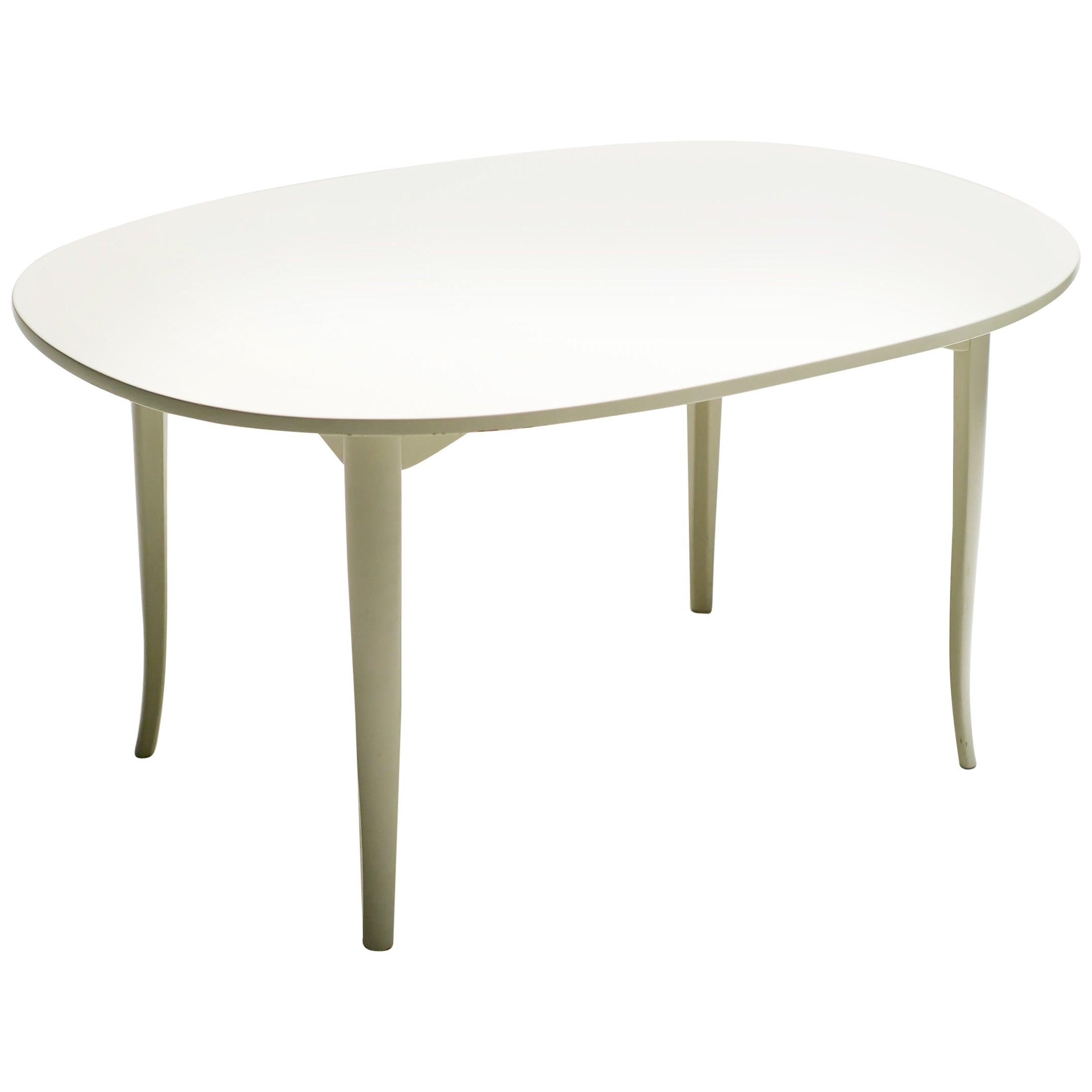 Carl Malmsten Oval Side Table