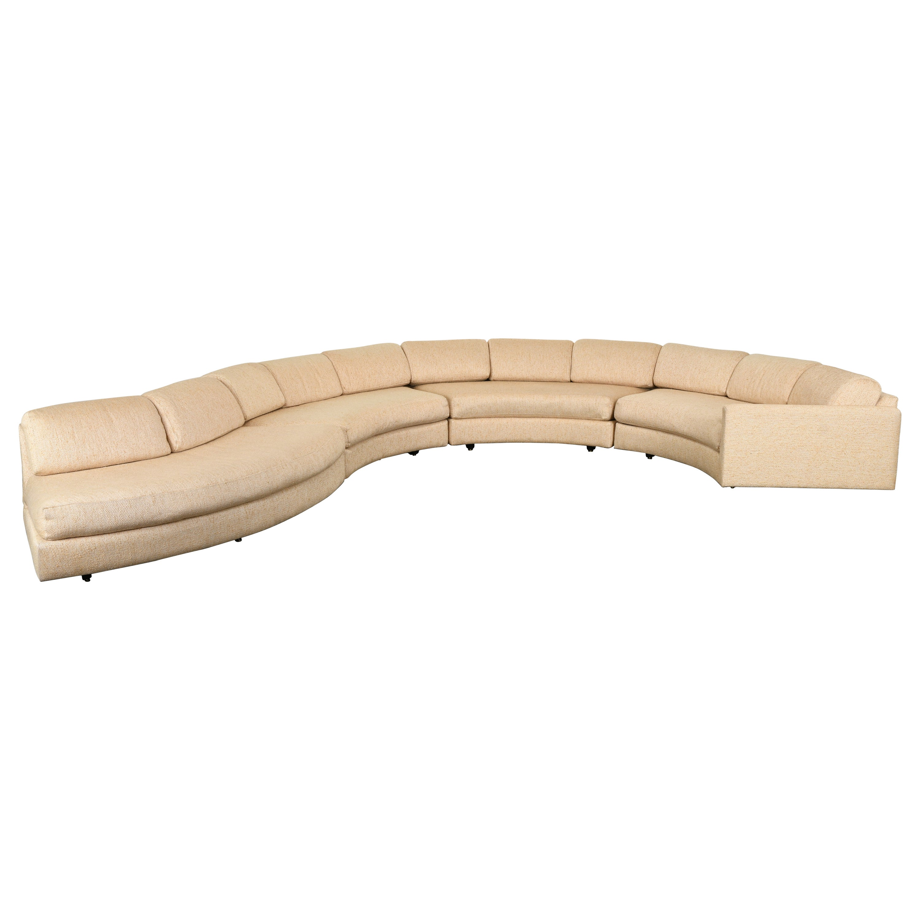 Monumental Adrian Pearsall Sectional Sofa for Craft Associates, 1960s