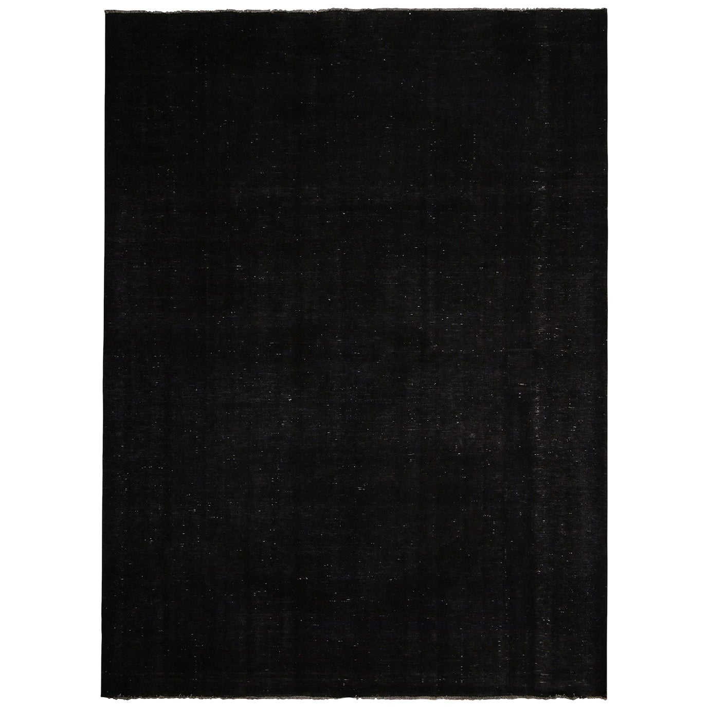 Rug & Kilim's Contemporary Black and White Wool Rug