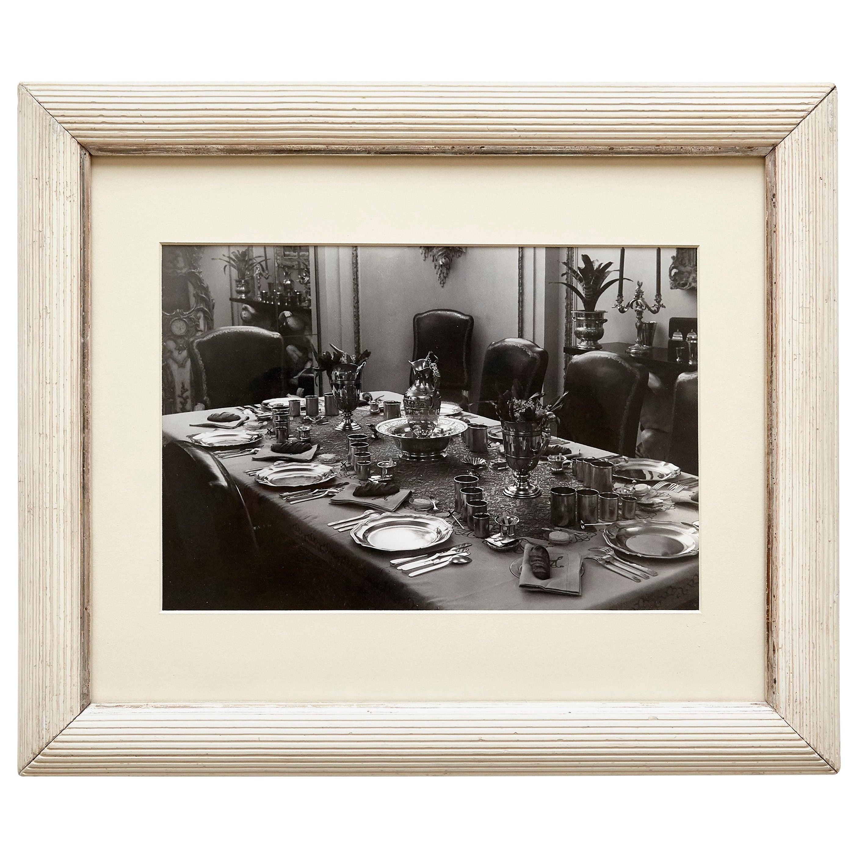 Brassai Black and White Photography of an Interior, circa 1936