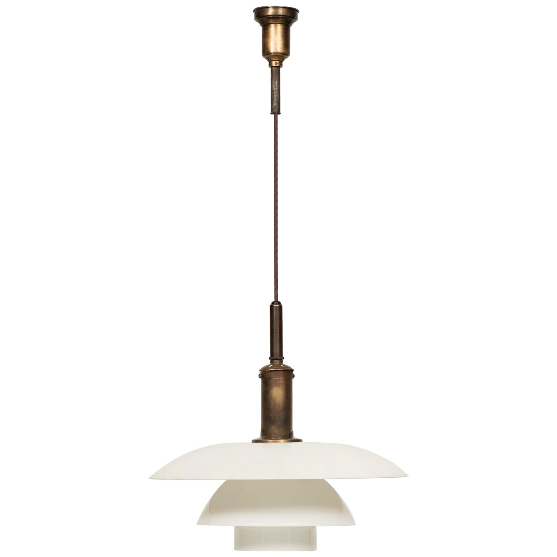 Poul Henningsen Ceiling Lamp Model PH-5/5 Produced by Louis Poulsen in Denmark