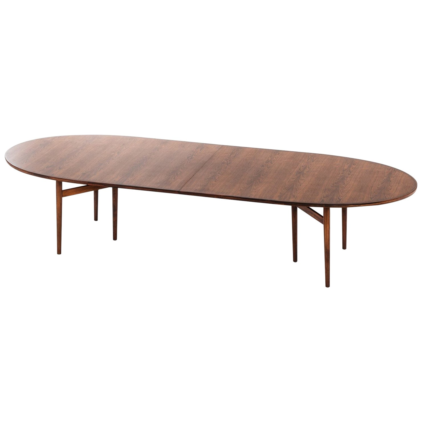 Arne Vodder Dining / Conference Table Produced by Sibast Møbelfabrik in Denmark