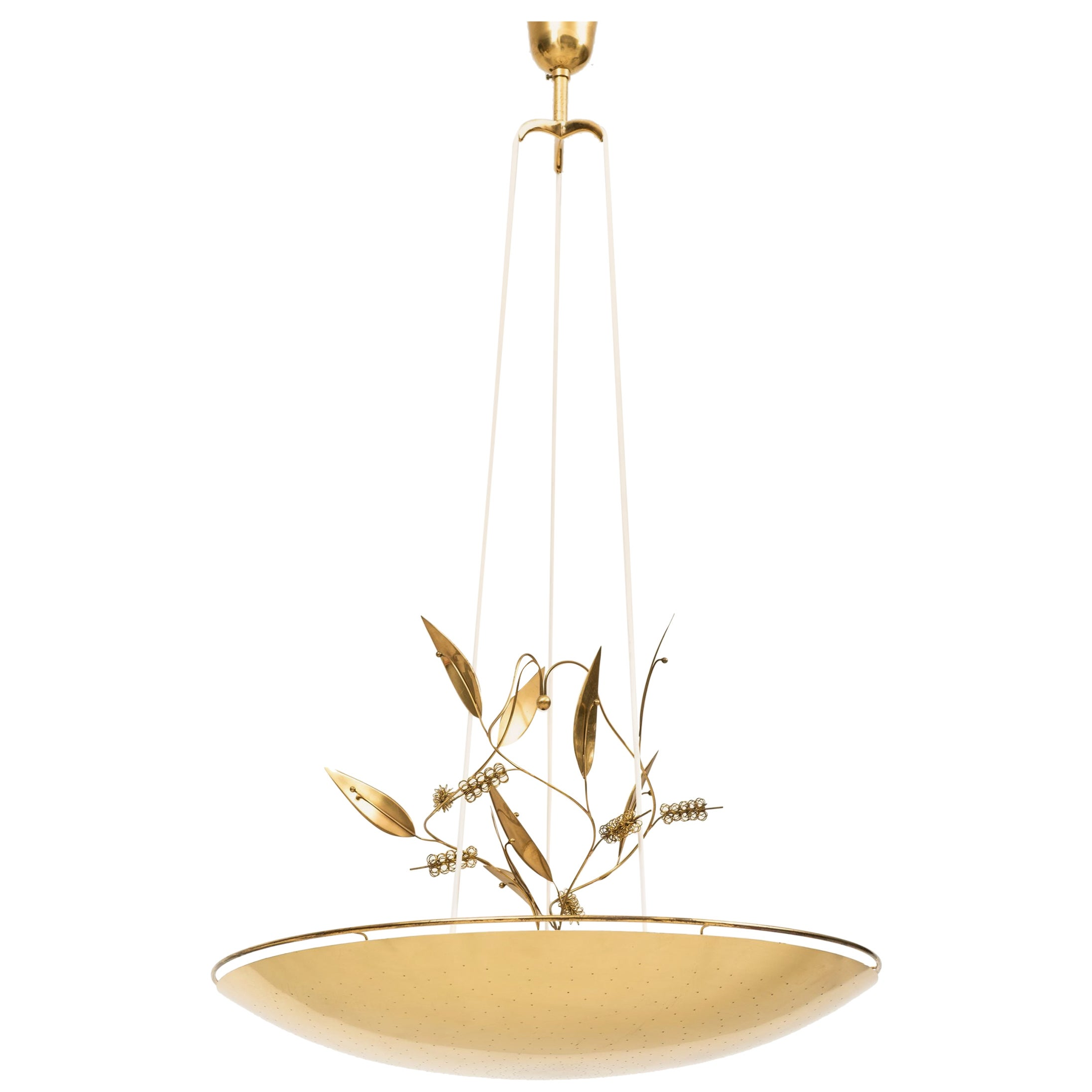 Paavo Tynell Ceiling Lamps Model K2-33 Produced by Taito Oy in Finland