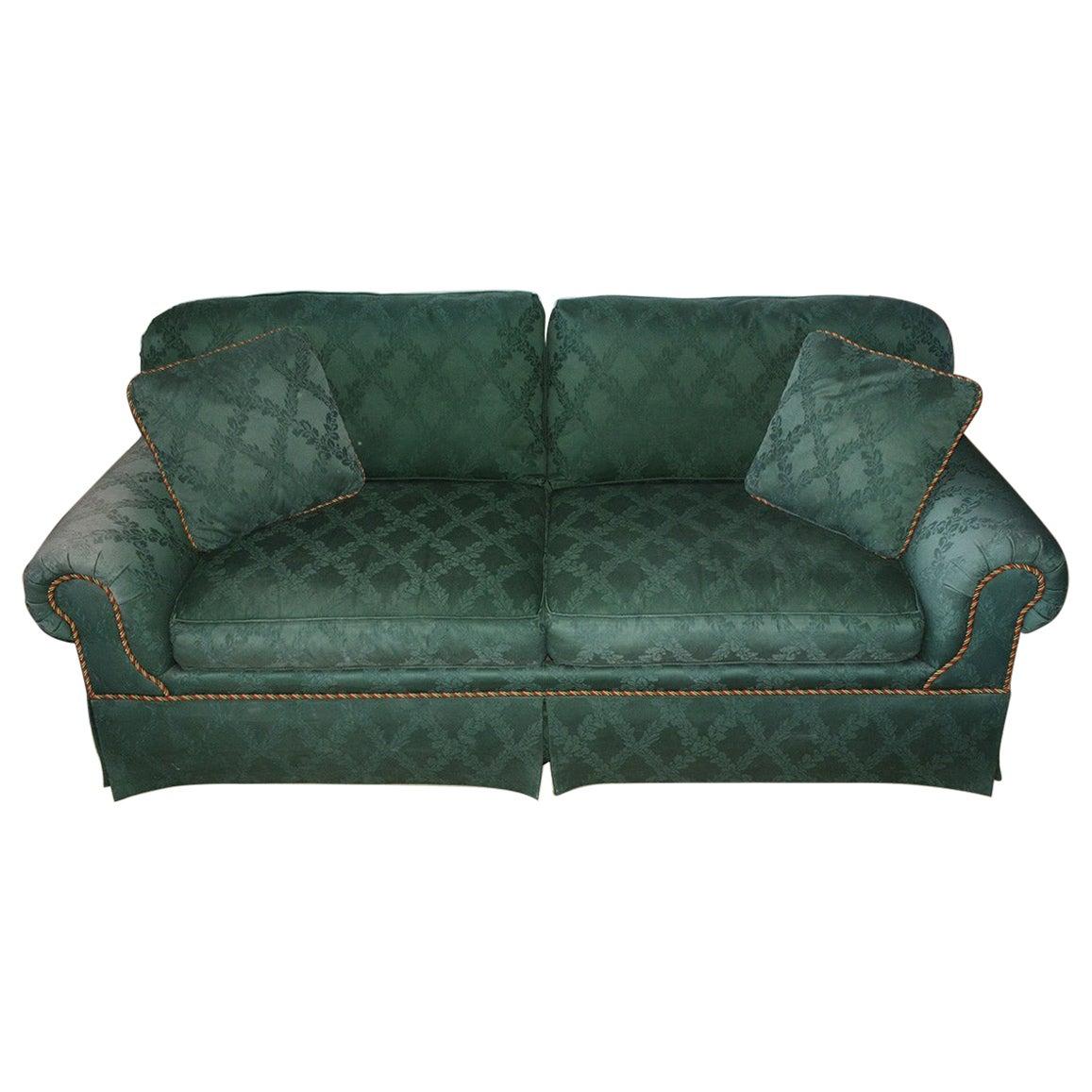 Custom English Style Rolled Arm Sofa