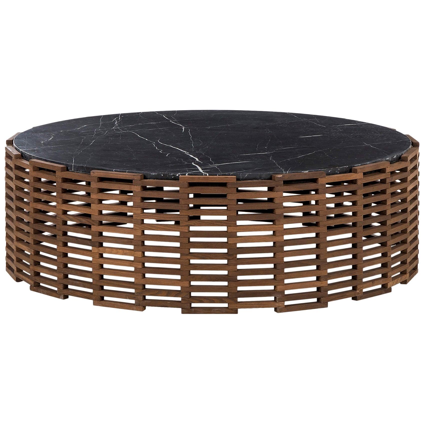 Doriana Round Coffee Table