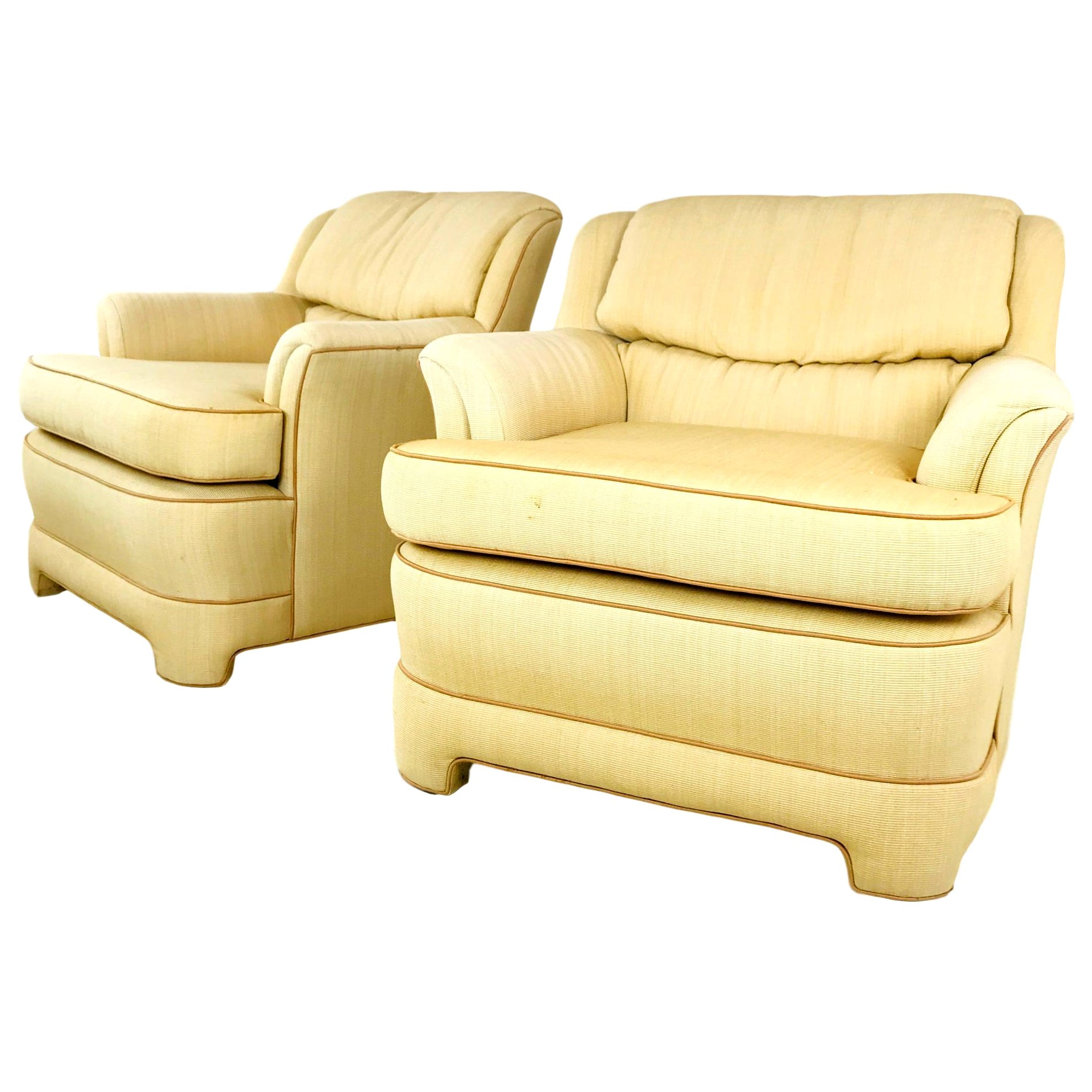 Pair of 1980s Marge Carson Armchairs