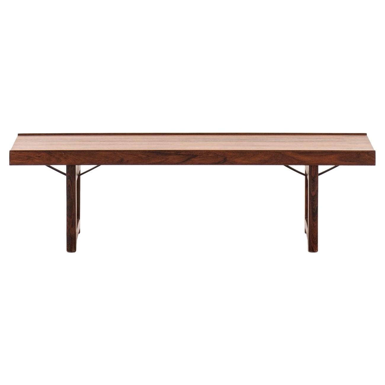 Torbjørn Afdal Bench / Side Table Model Krobo Produced by Bruksbo in Norway