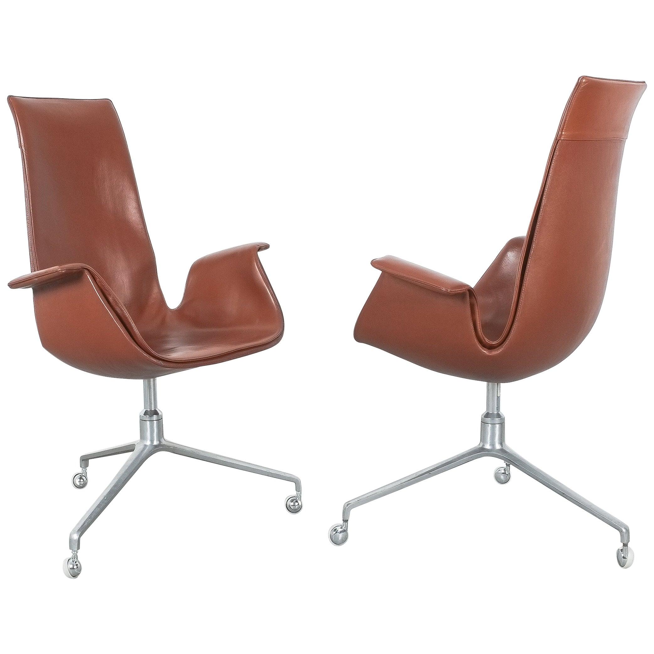 Swivel Tulip Chair by Preben Fabricius & Jørgen Kastholm for Kill International