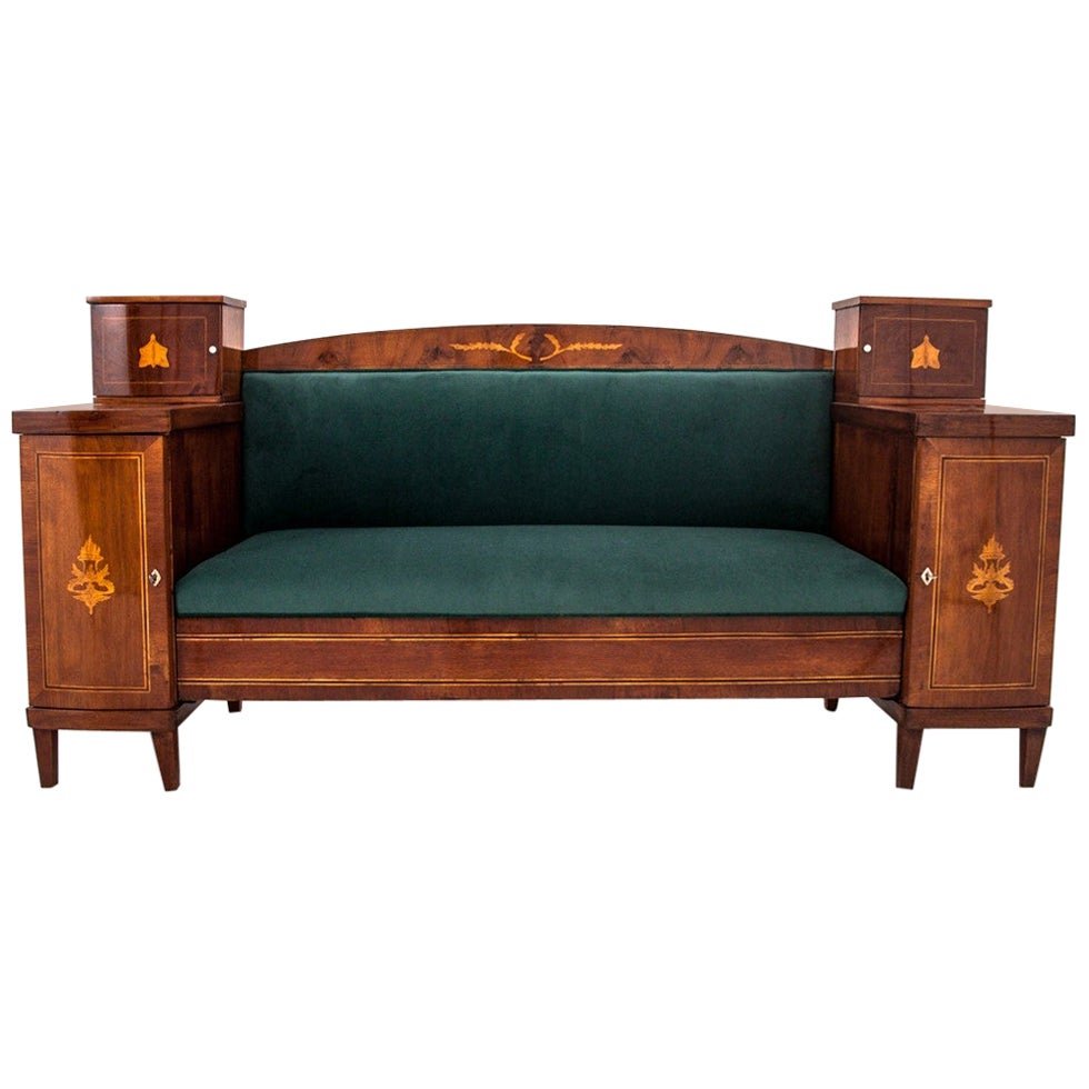 Empire Antique Sofa from Germany, from circa 1880