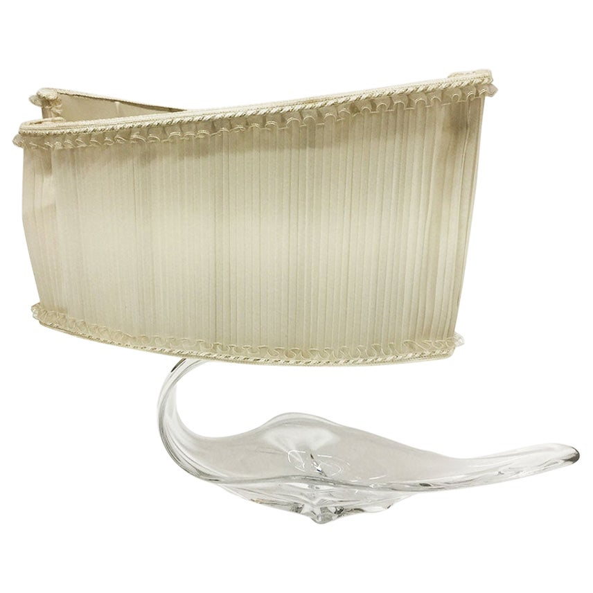 Italian Glass Murano Table Lamp