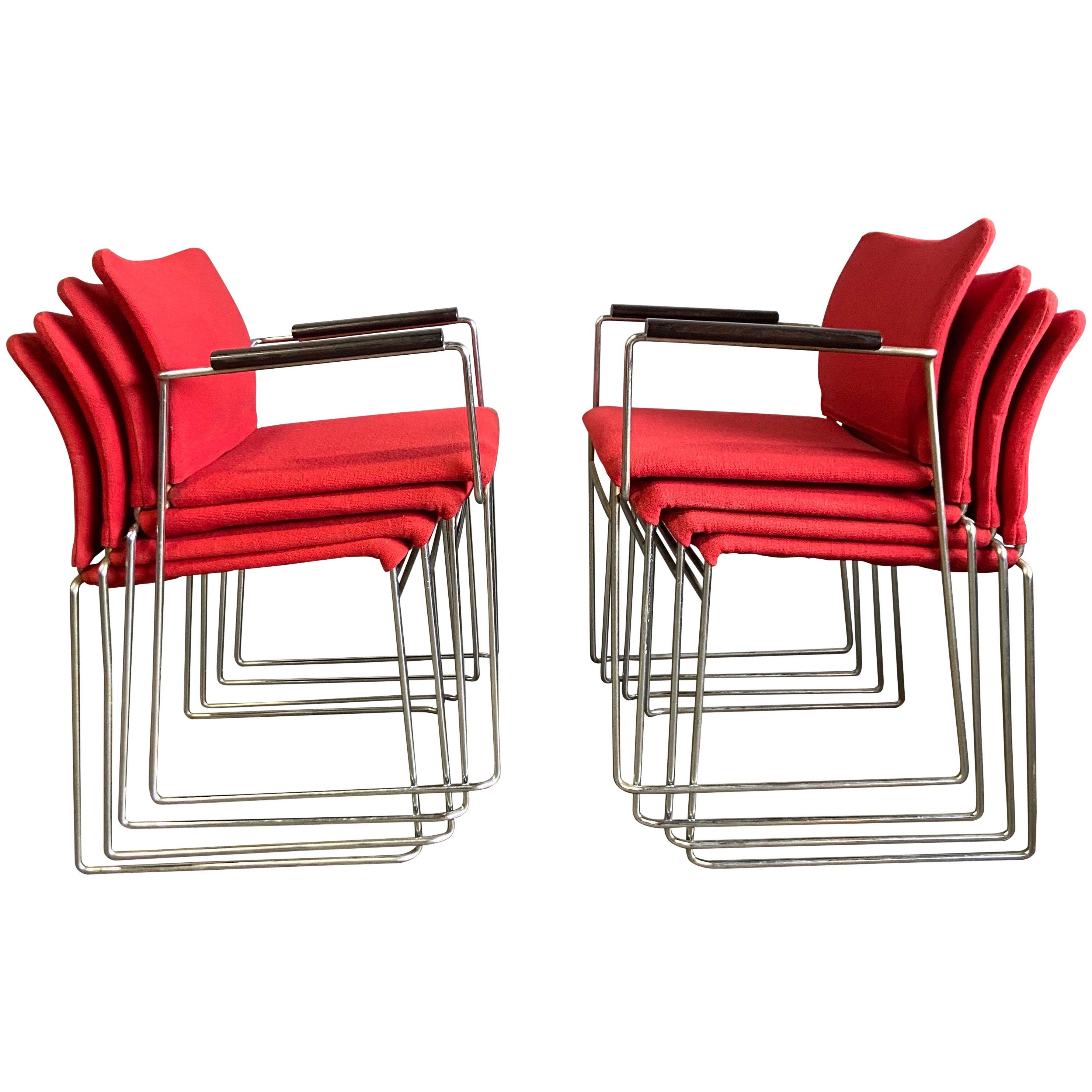 Midcentury Jano Chairs by Kazuhide Takahama