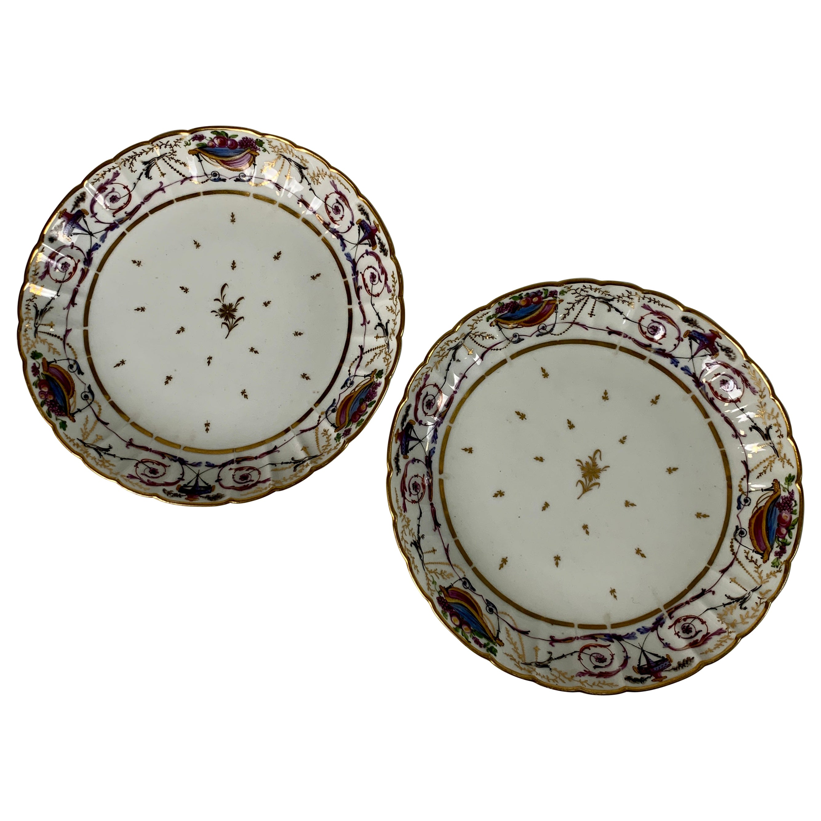 From the Collection of Mario Buatta Pair of French Neoclassical Dishes