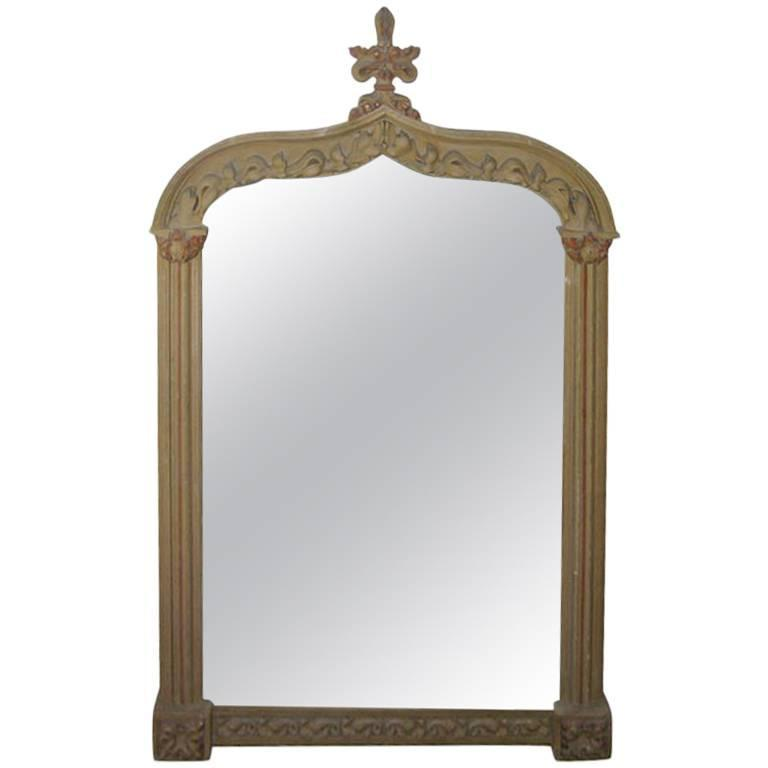 Oversized Late 19th Century Italian Mirror