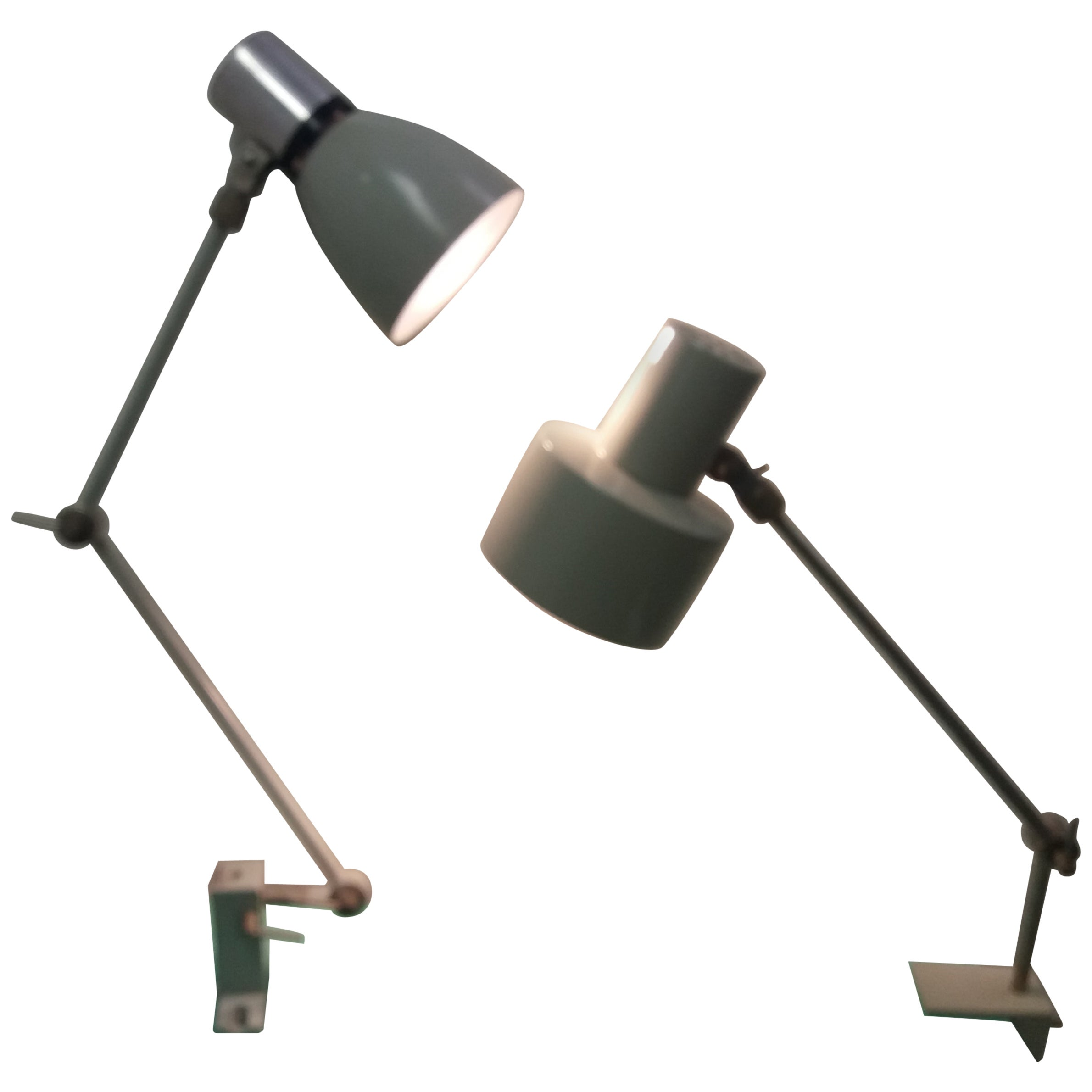 Industrial Adjustable Table Lamp, 1960s