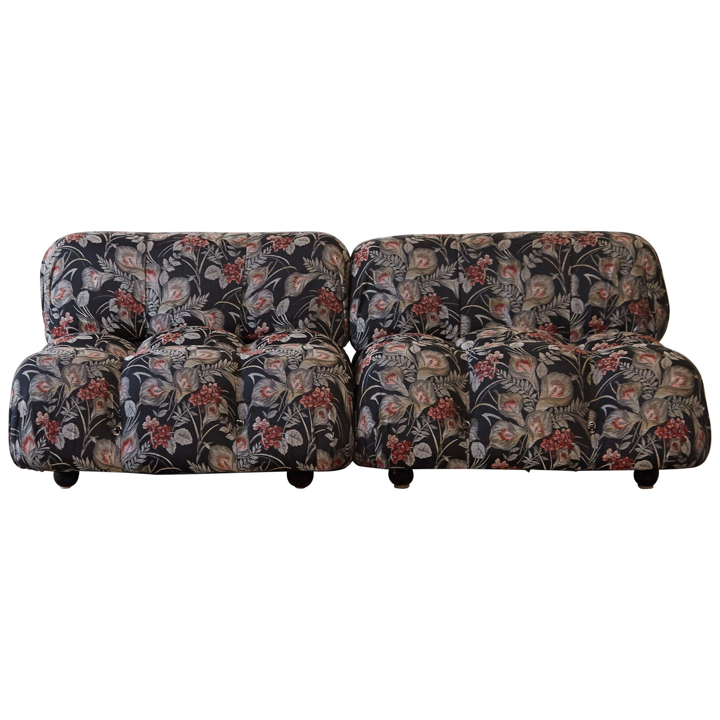 Mario Bellini 'Camaleonda' Modular Sofa, 2 elements, B&B Italia, 1970s