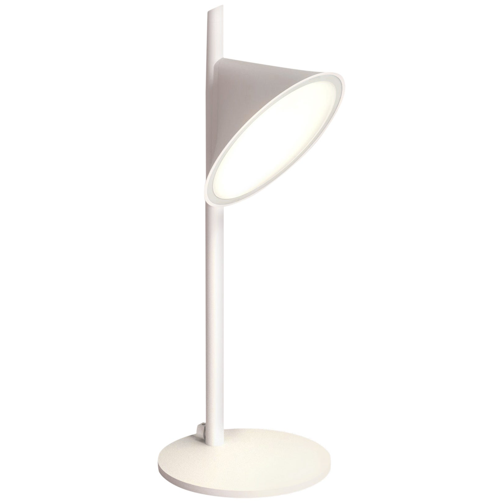Orchid: Modern Italian Table Lamp, Minimal Form, High Performance, Dimmable