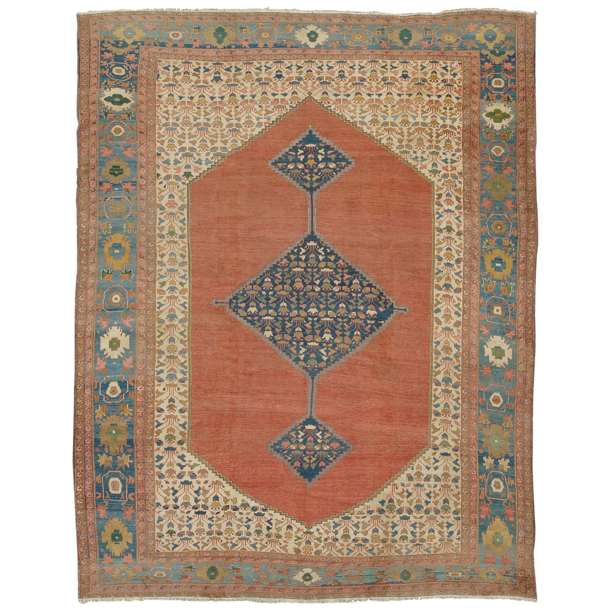 Mid-19th Century Persian Bakshaish Rug
