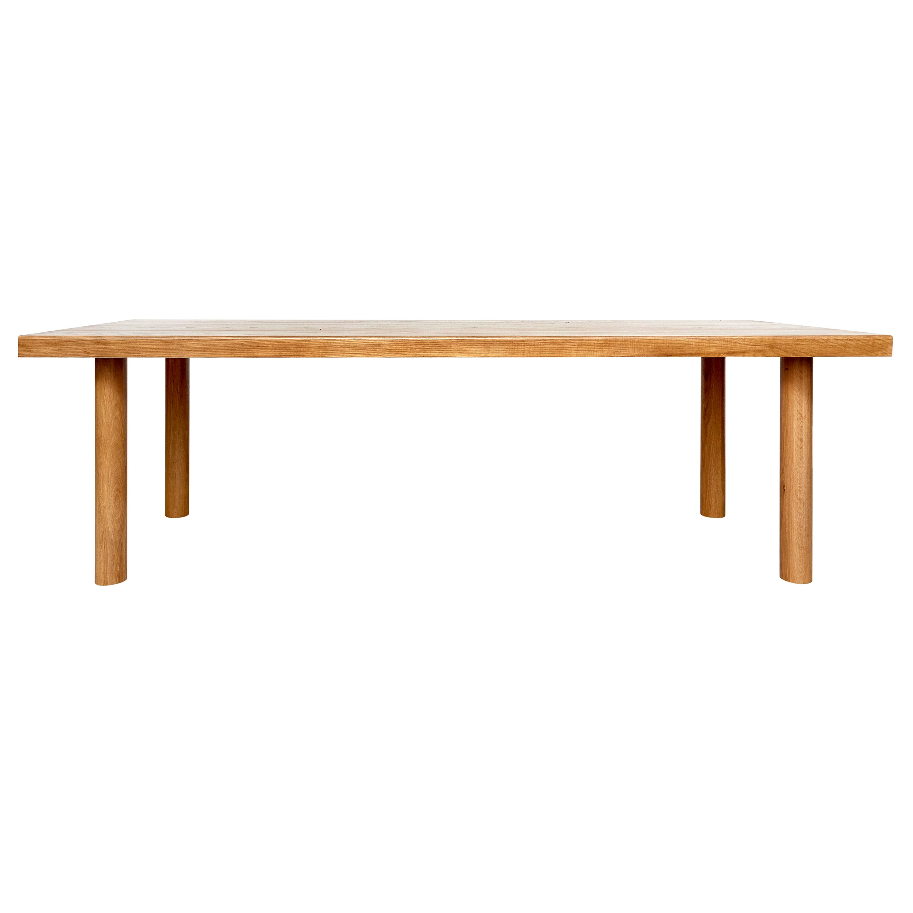 Dada Est. Contemporary Solid Ash Large Dining Table