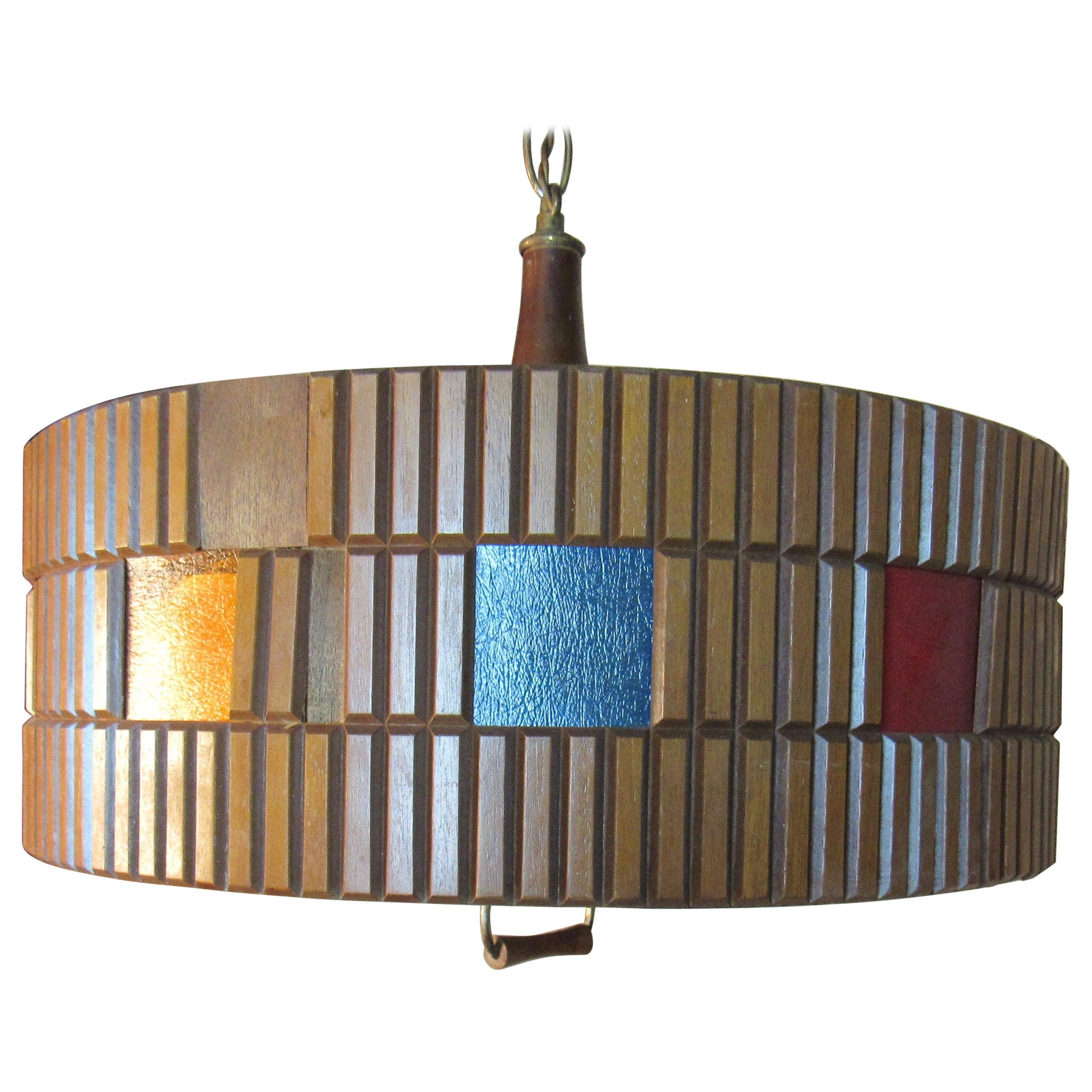 Vintage Modern Hanging Chandelier