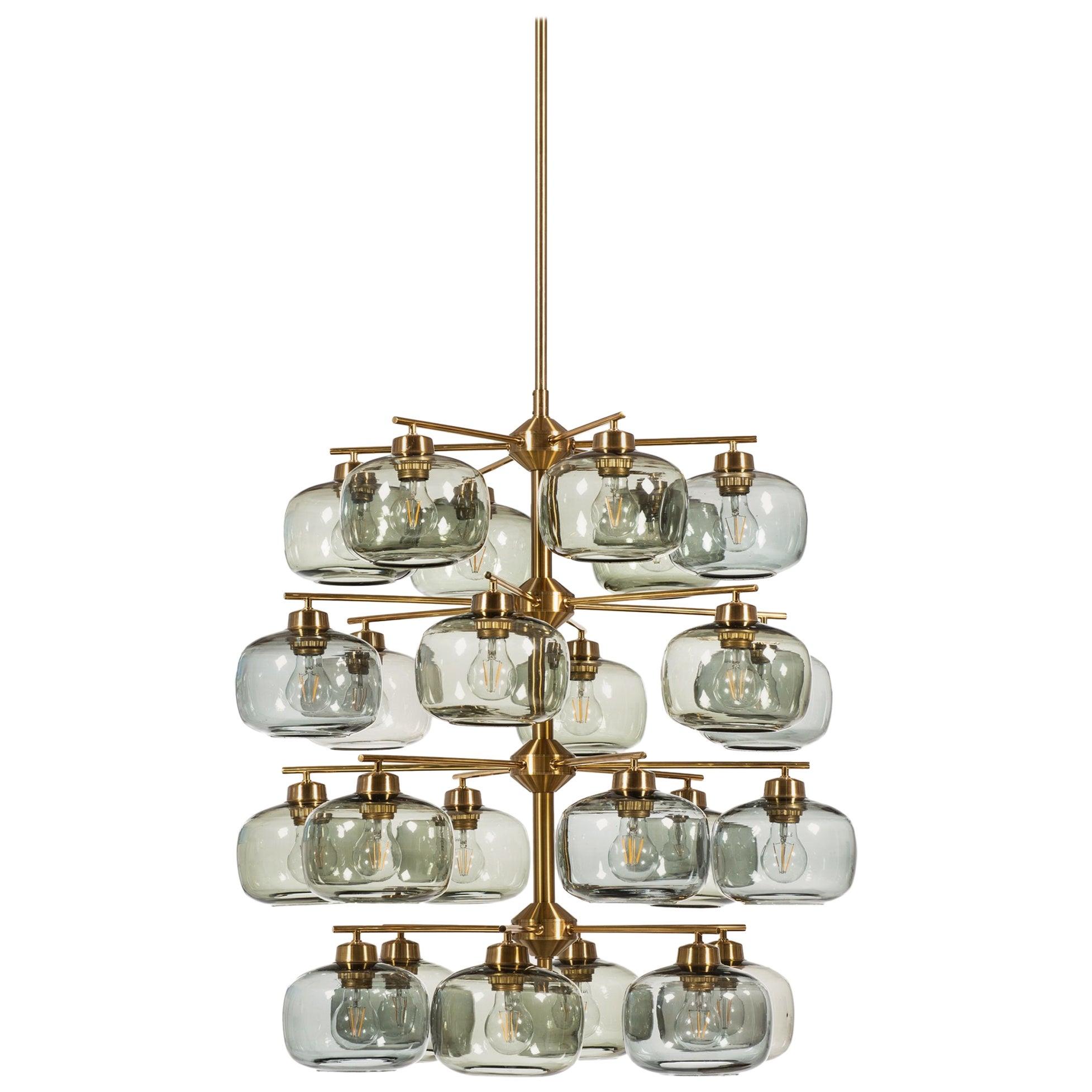 Holger Johansson Ceiling Lamp Produced by Westal in Sweden