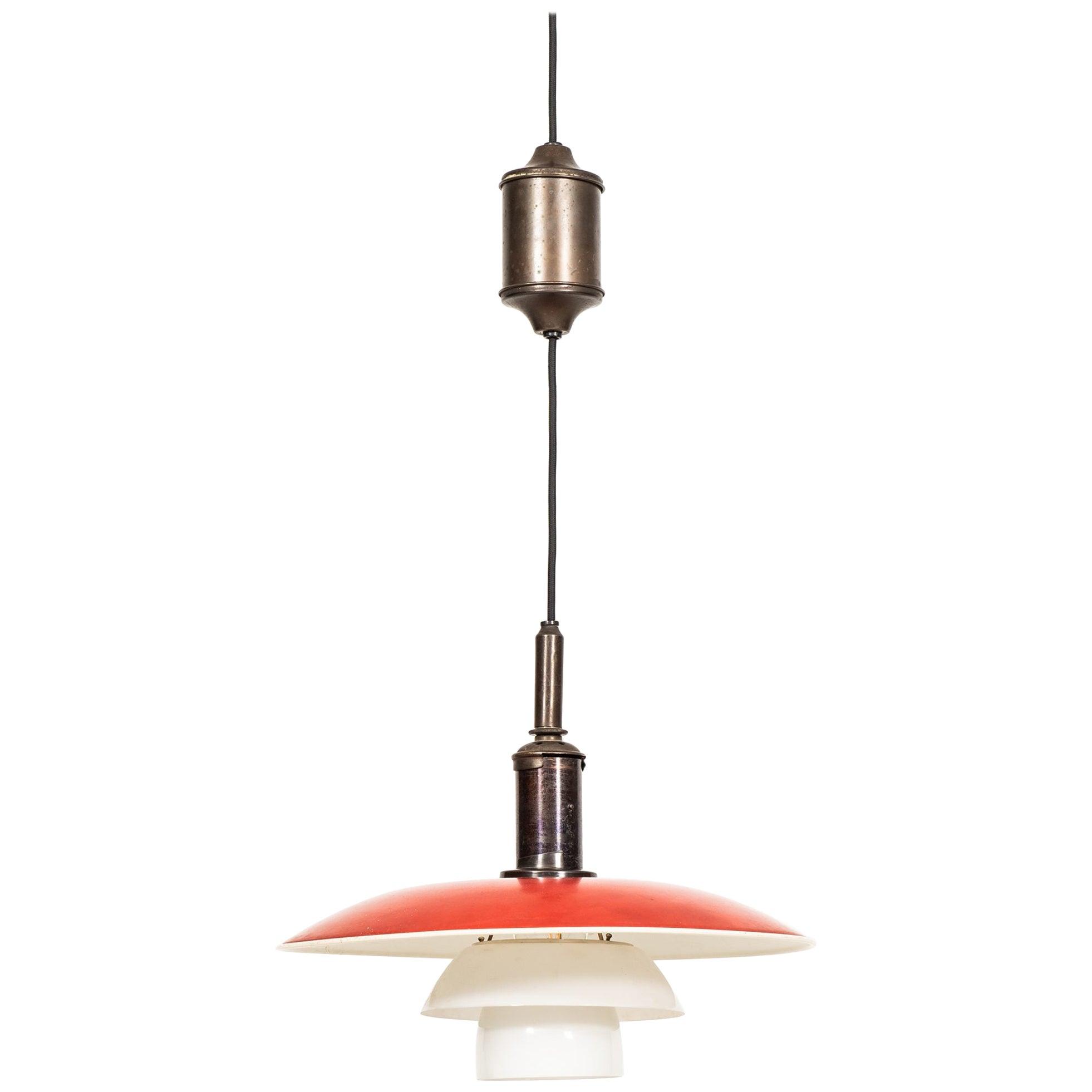 Poul Henningsen Ceiling Lamp Produced by Louis Poulsen in Denmark